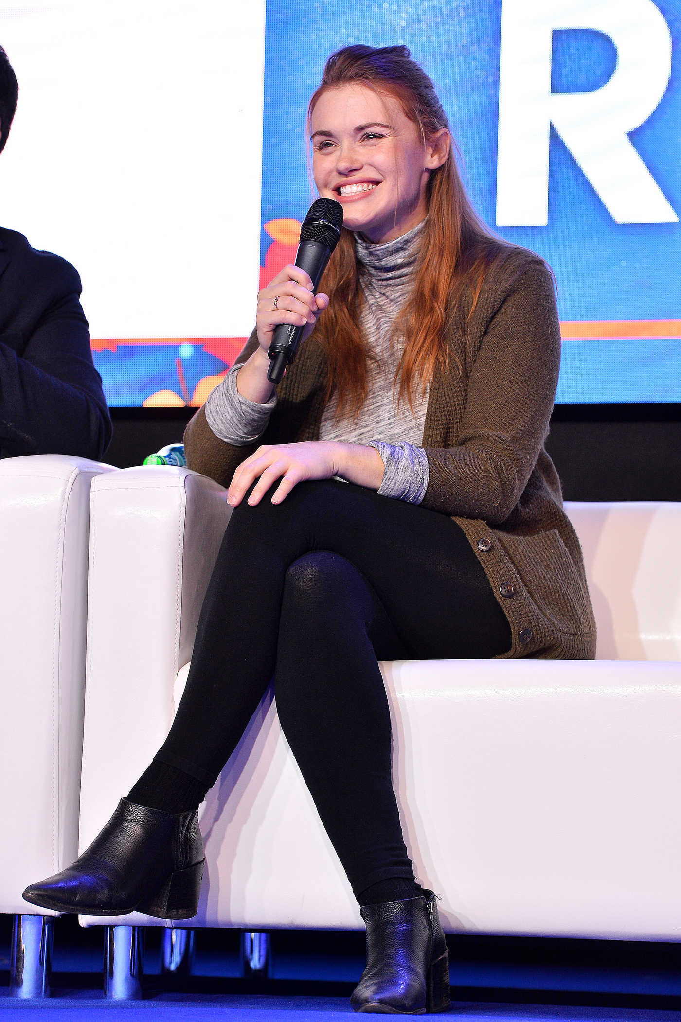 Holland Roden at Warsaw Comic Con at Ptak Warsaw Expo in Warsaw 11/25/2017
