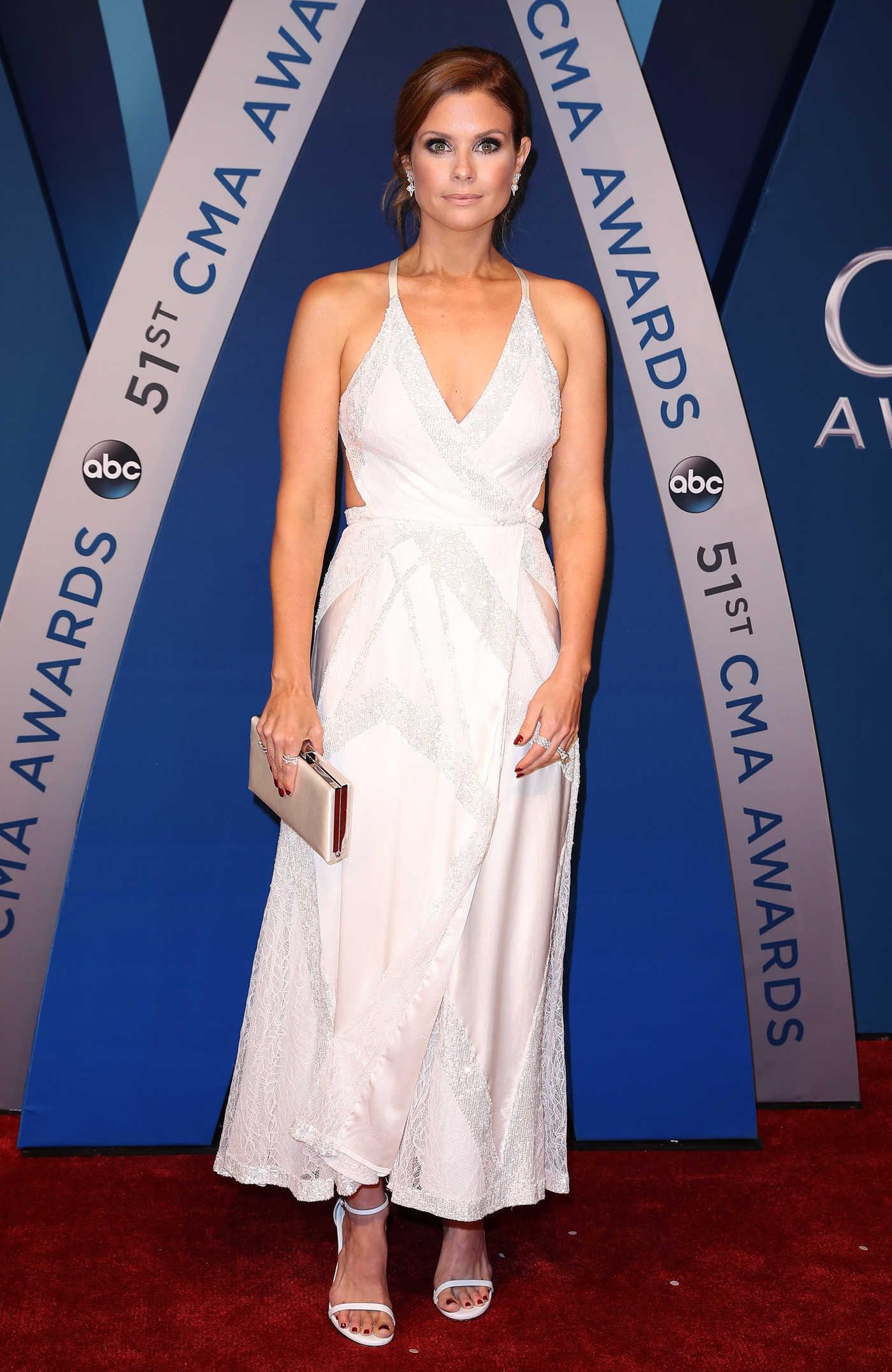 Joanna Garcia at the 51st Annual CMA Awards at the Bridgestone Arena in Nashville 11/08/2017