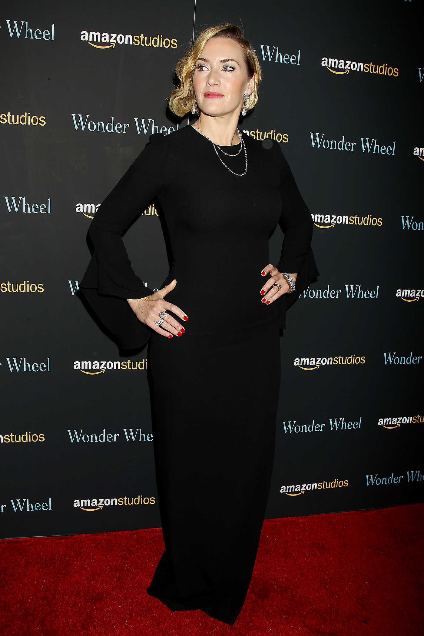 Kate Winslet at the Wonder Wheel Special Screening in New York 11/14/2017