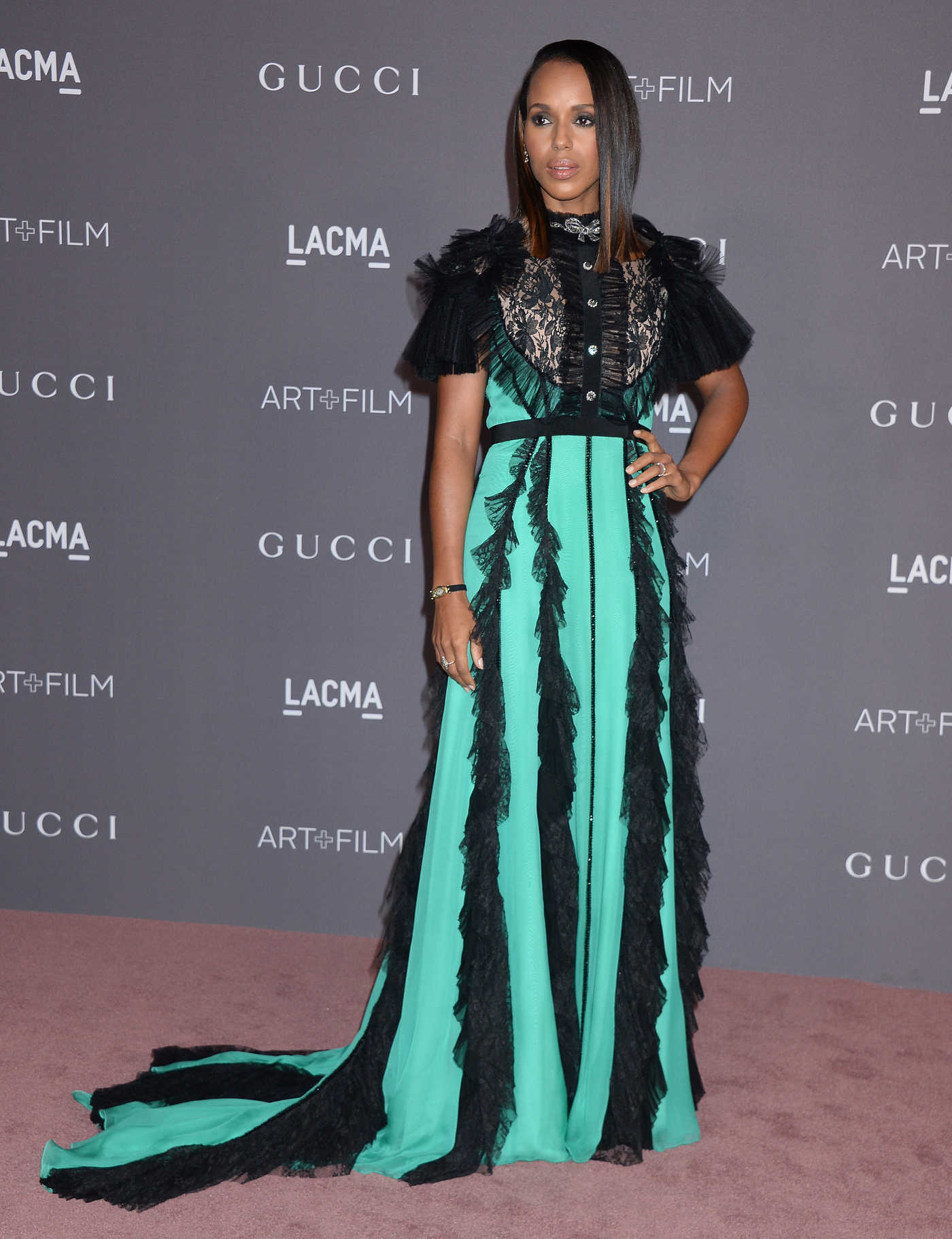 Kerry Washington at 2017 LACMA Art and Film Gala in Los Angeles 11/04/2017