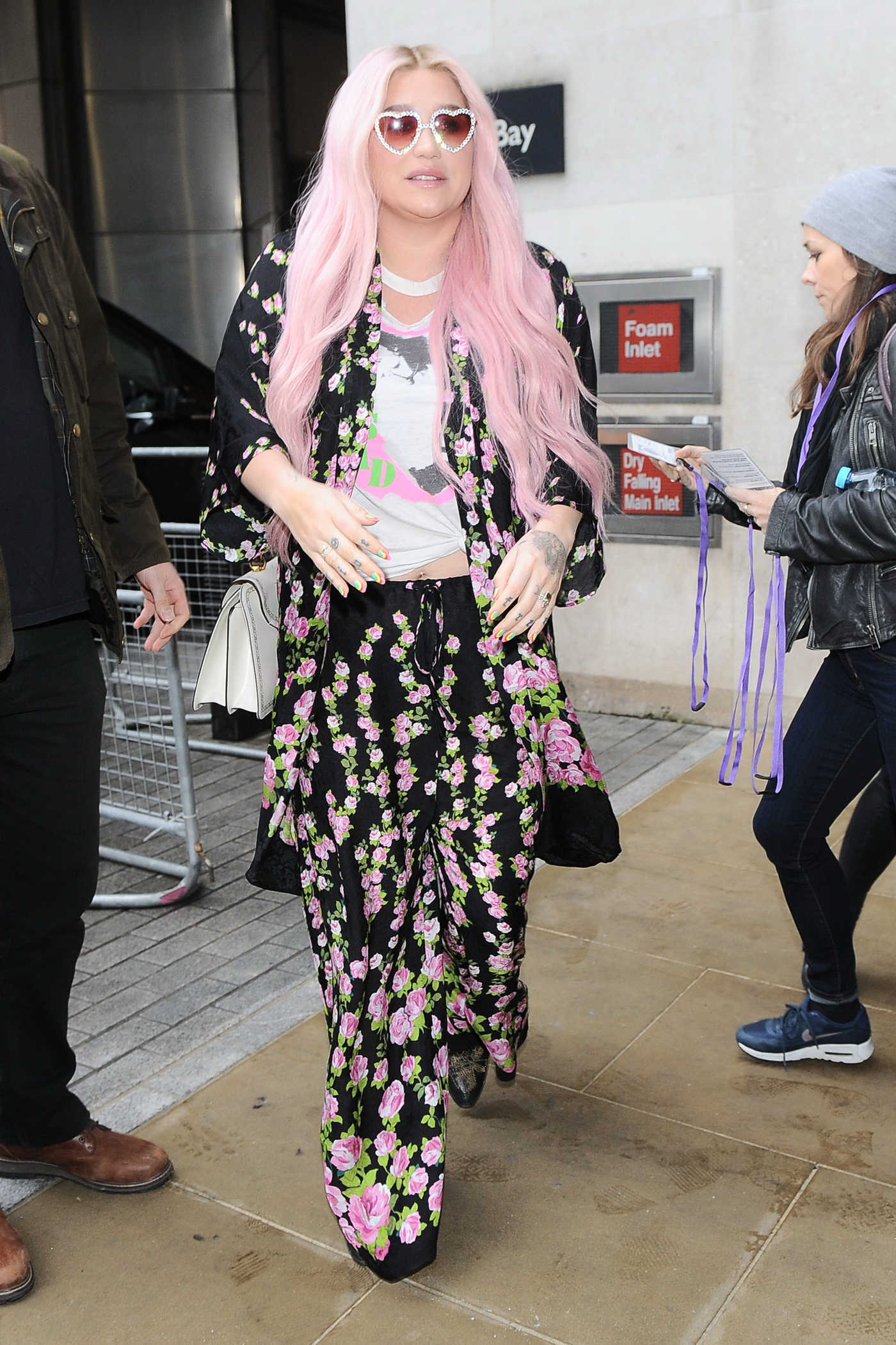 Kesha Arrives at BBC Live Lounge in London 11/15/2017