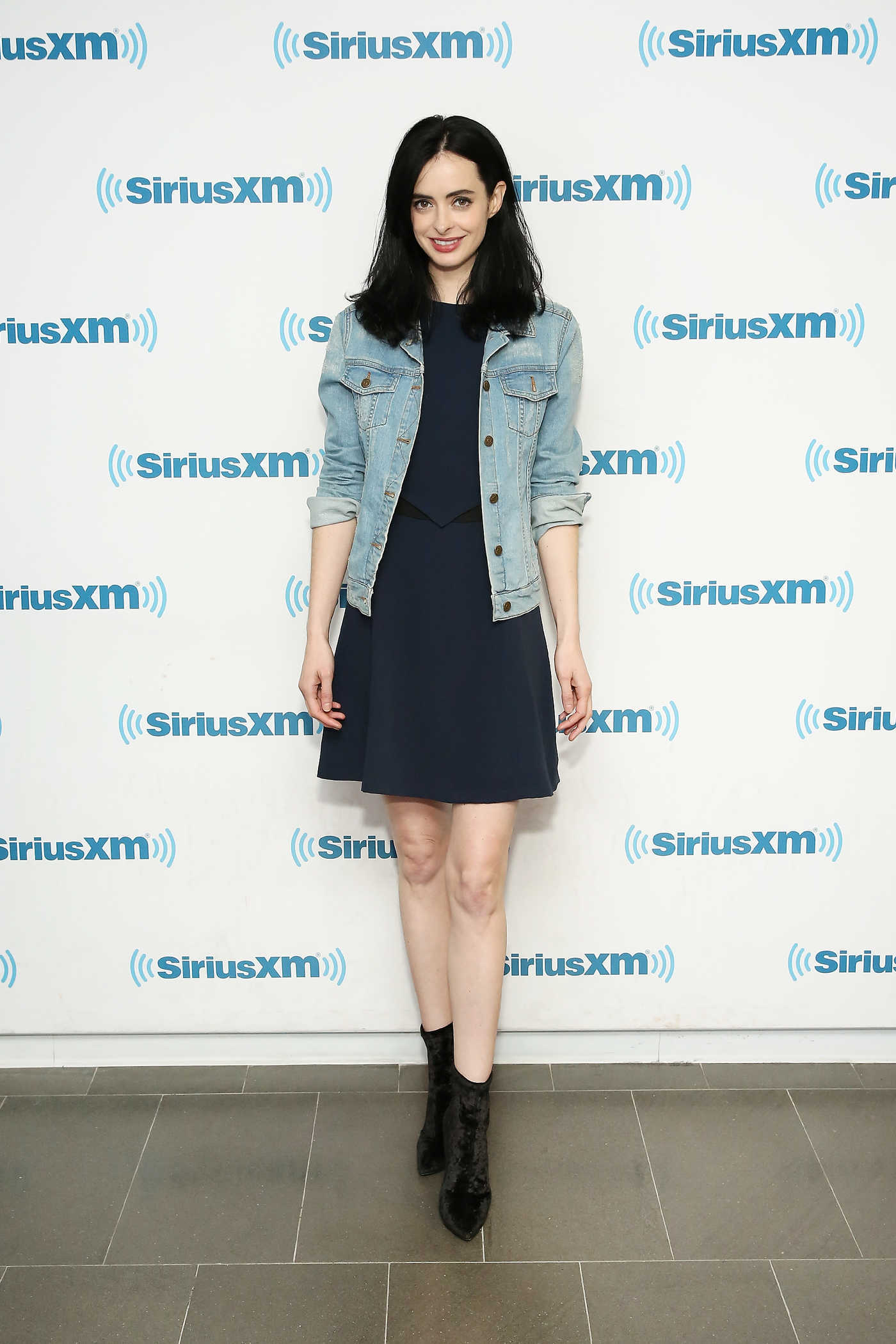 Krysten Ritter Visits SiriusXM Studios in New York City 11/07/2017