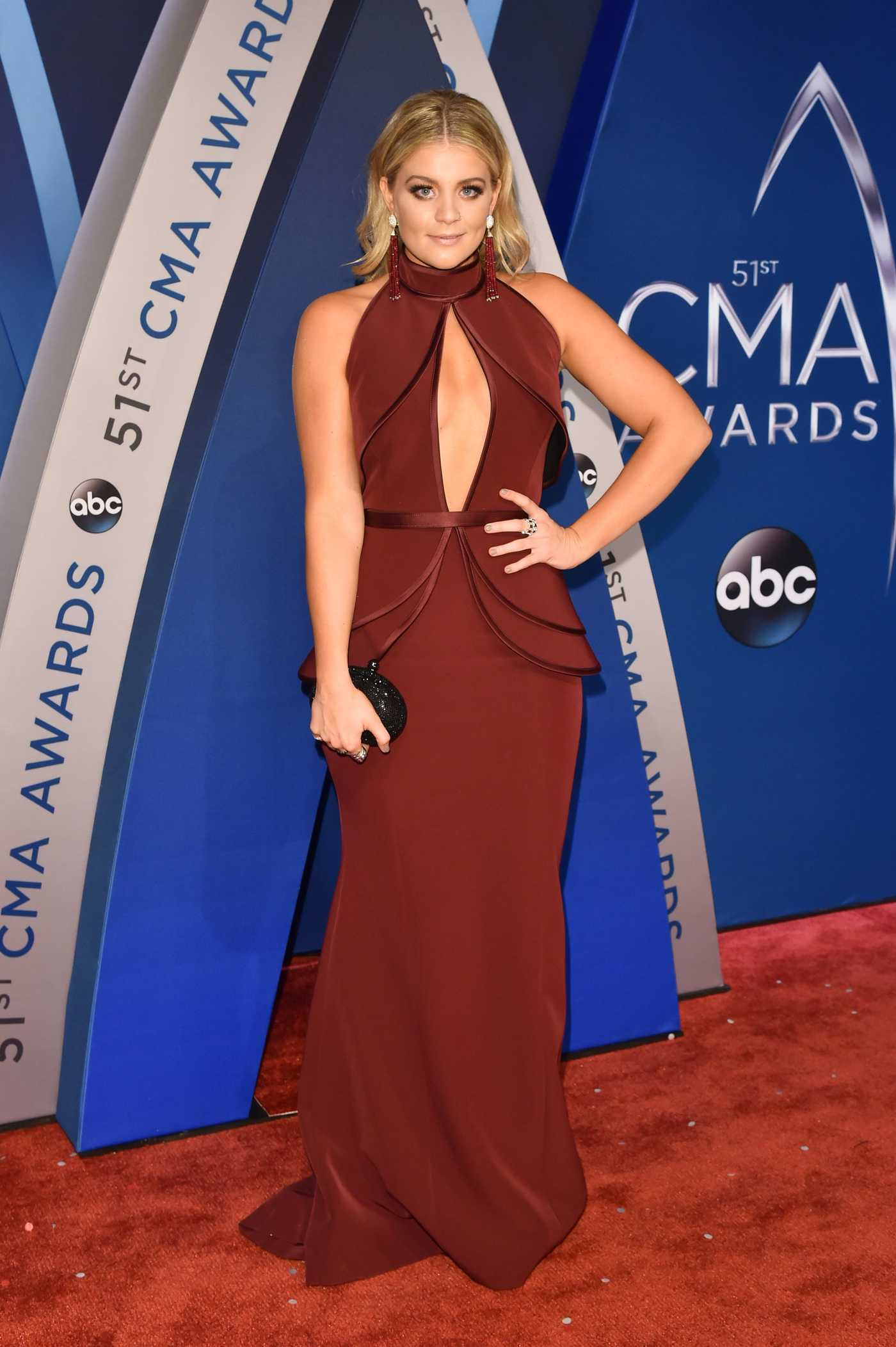 Lauren Alaina at the 51st Annual CMA Awards at the Bridgestone Arena in Nashville 11/08/2017