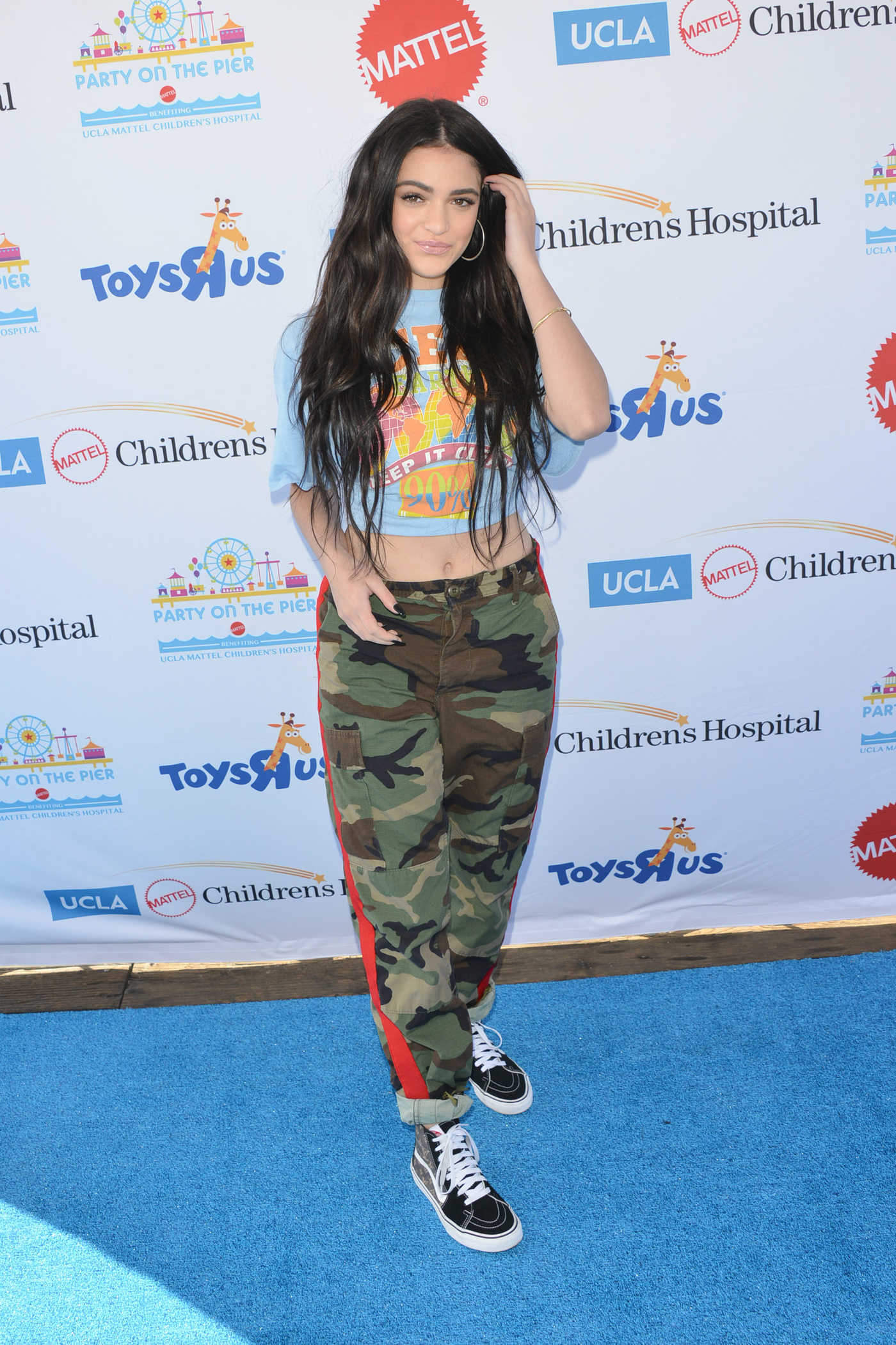 Luna Blaise at the 18th Annual Mattel Party on the Pier in Santa Monica 11/05/2017