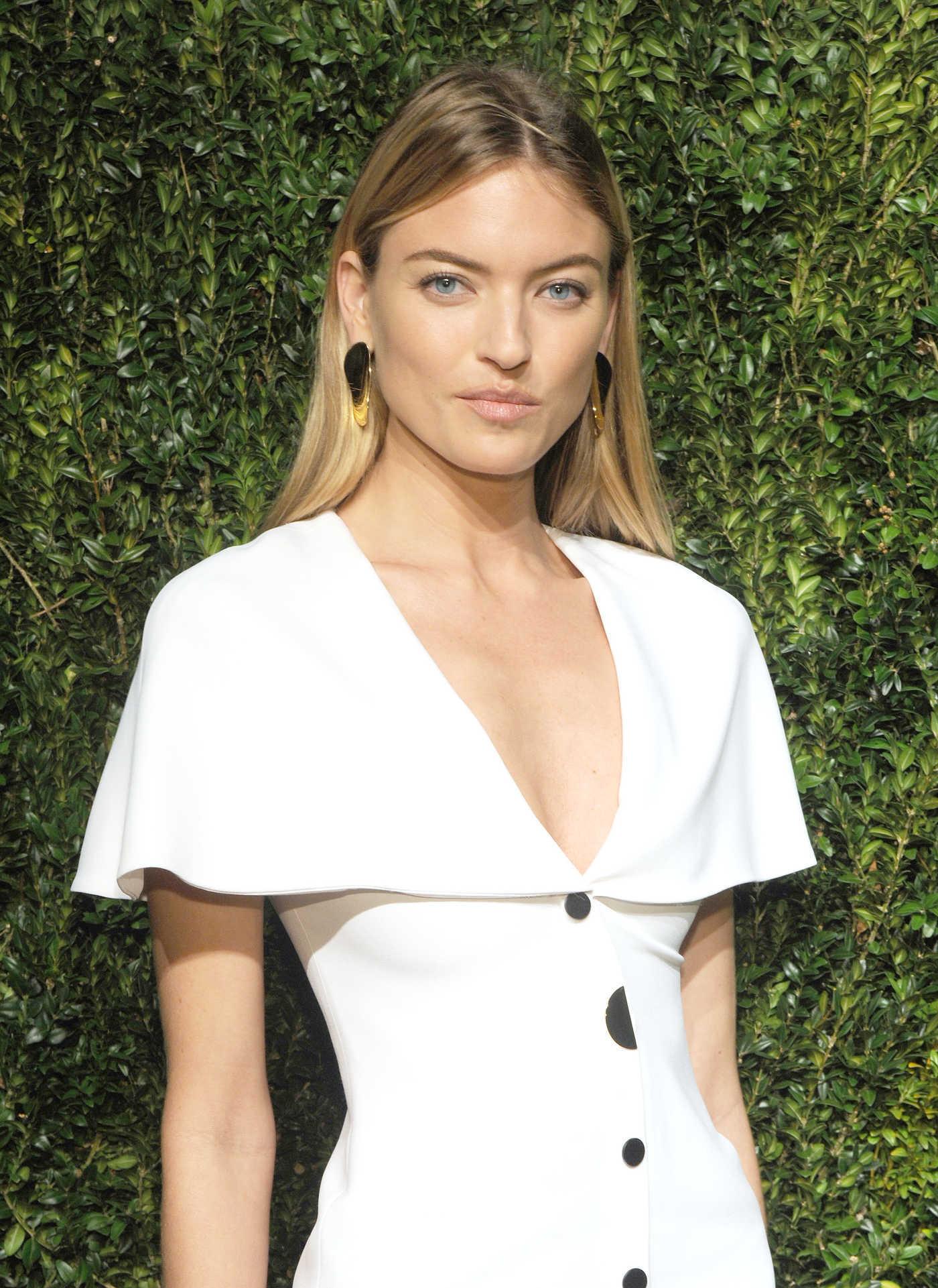 Martha Hunt at the 14th Annual CFDA Vogue Fashion Fund Awards NYC 11/06/2017
