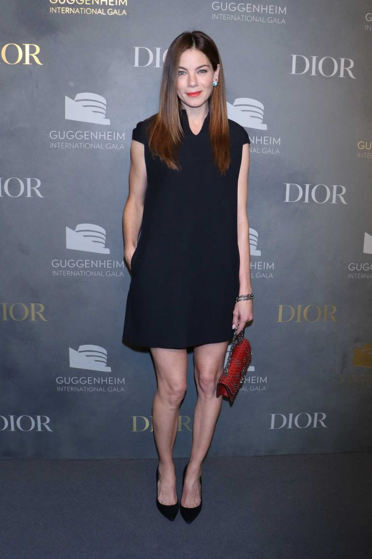 Michelle Monaghan at 2017 Guggenheim International Gala in New York City 11/16/2017-1