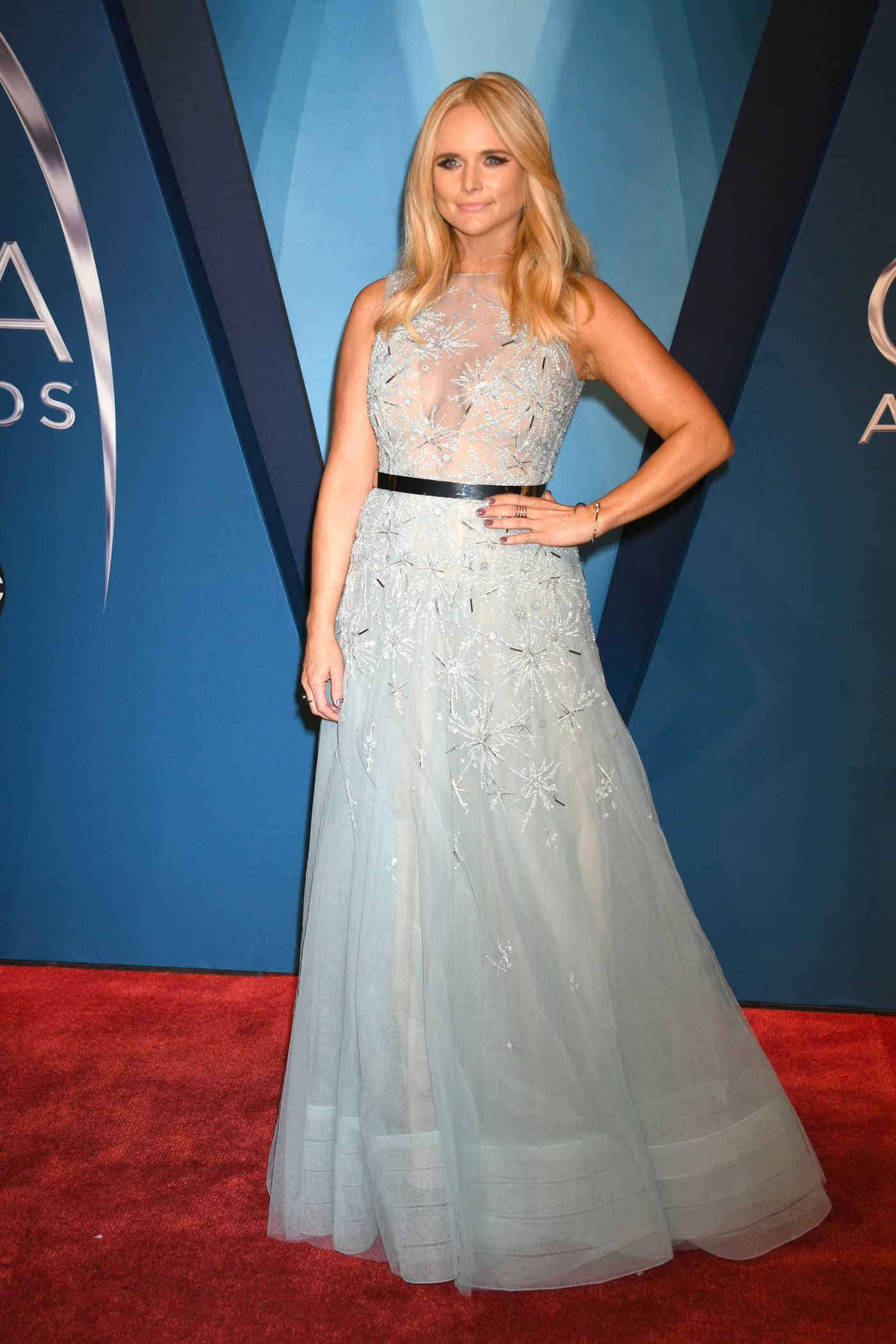 Miranda Lambert at the 51st Annual CMA Awards at the Bridgestone Arena in Nashville 11/08/2017