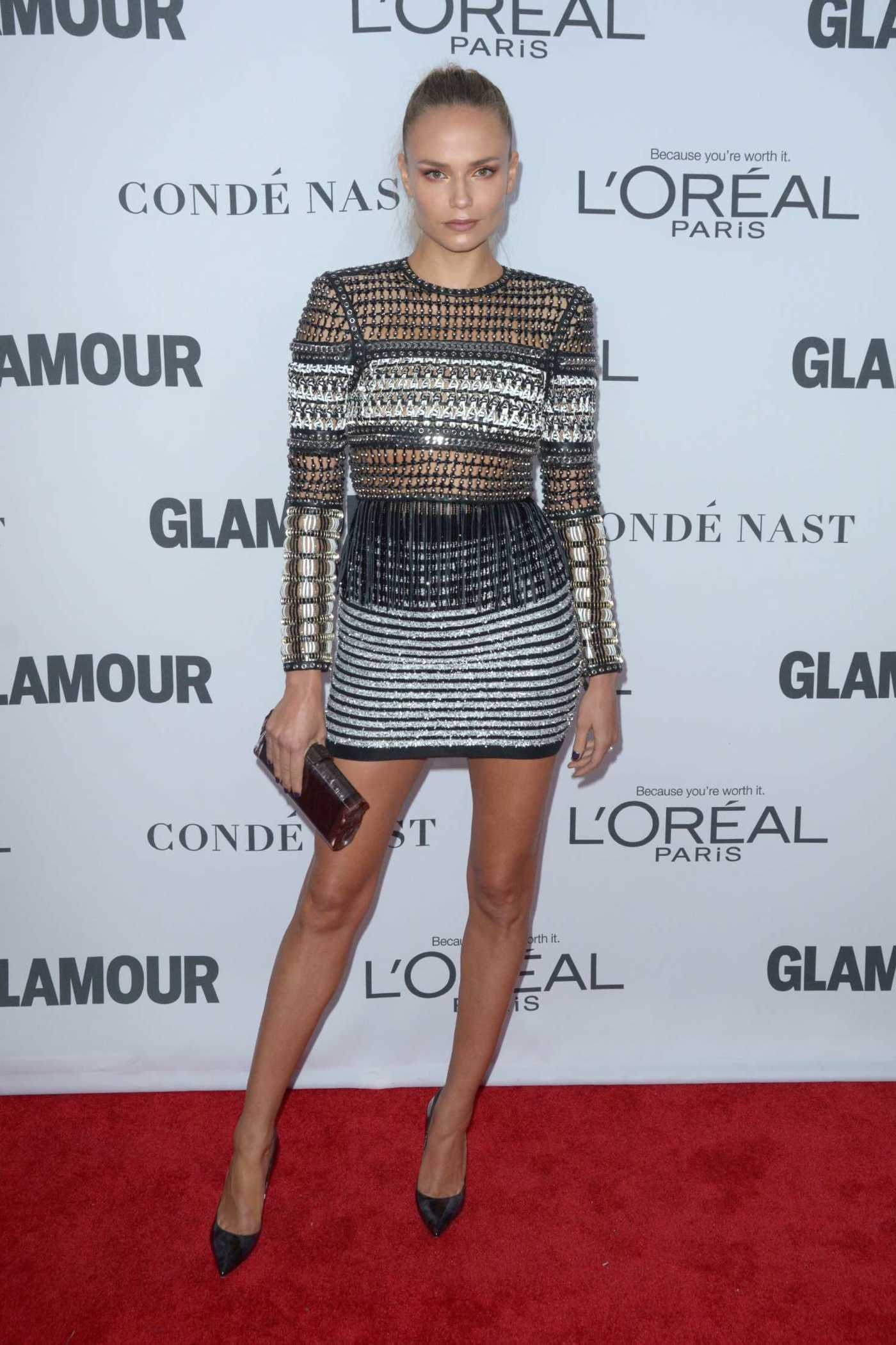 Natasha Poly at 2017 Glamour Women of the Year Awards in NYC 11/13/2017