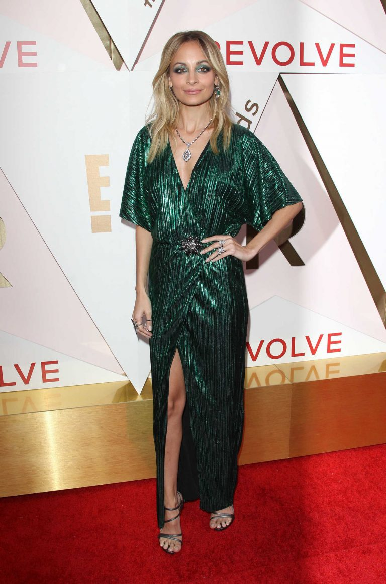 Nicole Richie at REVOLVE Awards in Los Angeles 11/02/2017-1