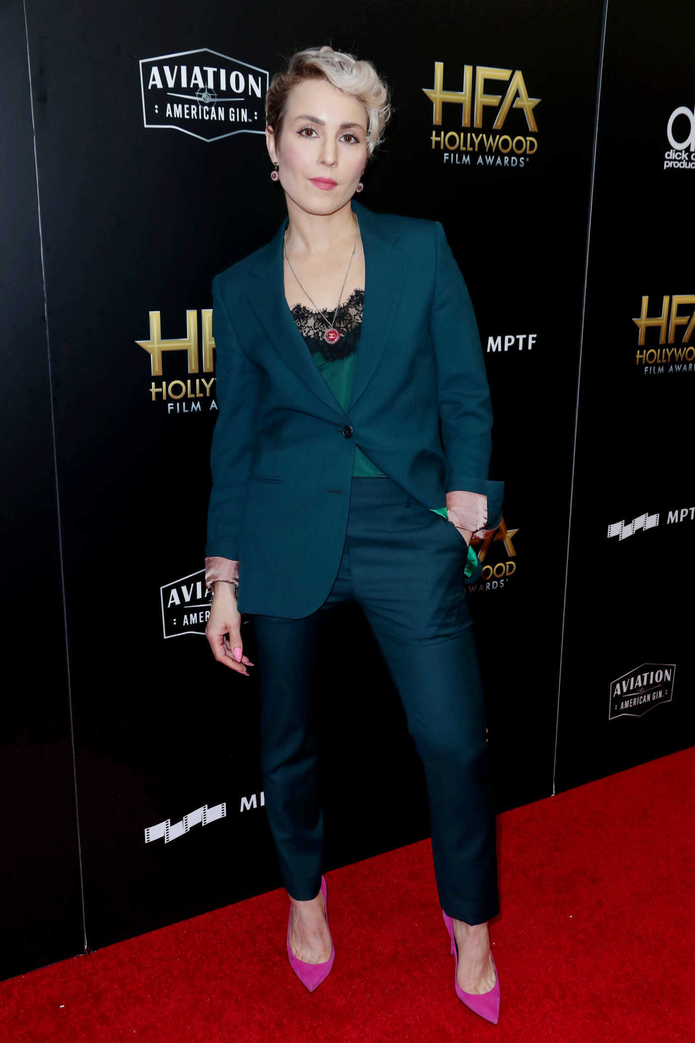 Noomi Rapace at the 21st Annual Hollywood Film Awards in Los Angeles 11/05/2017