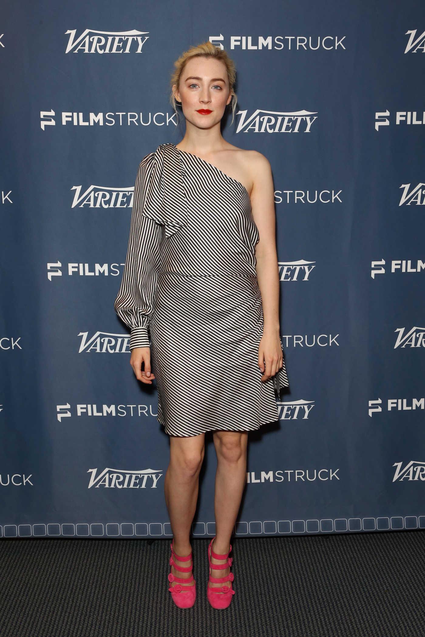 Saoirse Ronan at Lady Bird Variety Screening Series Presented by FilmStruck in Los Angeles 11/09/2017
