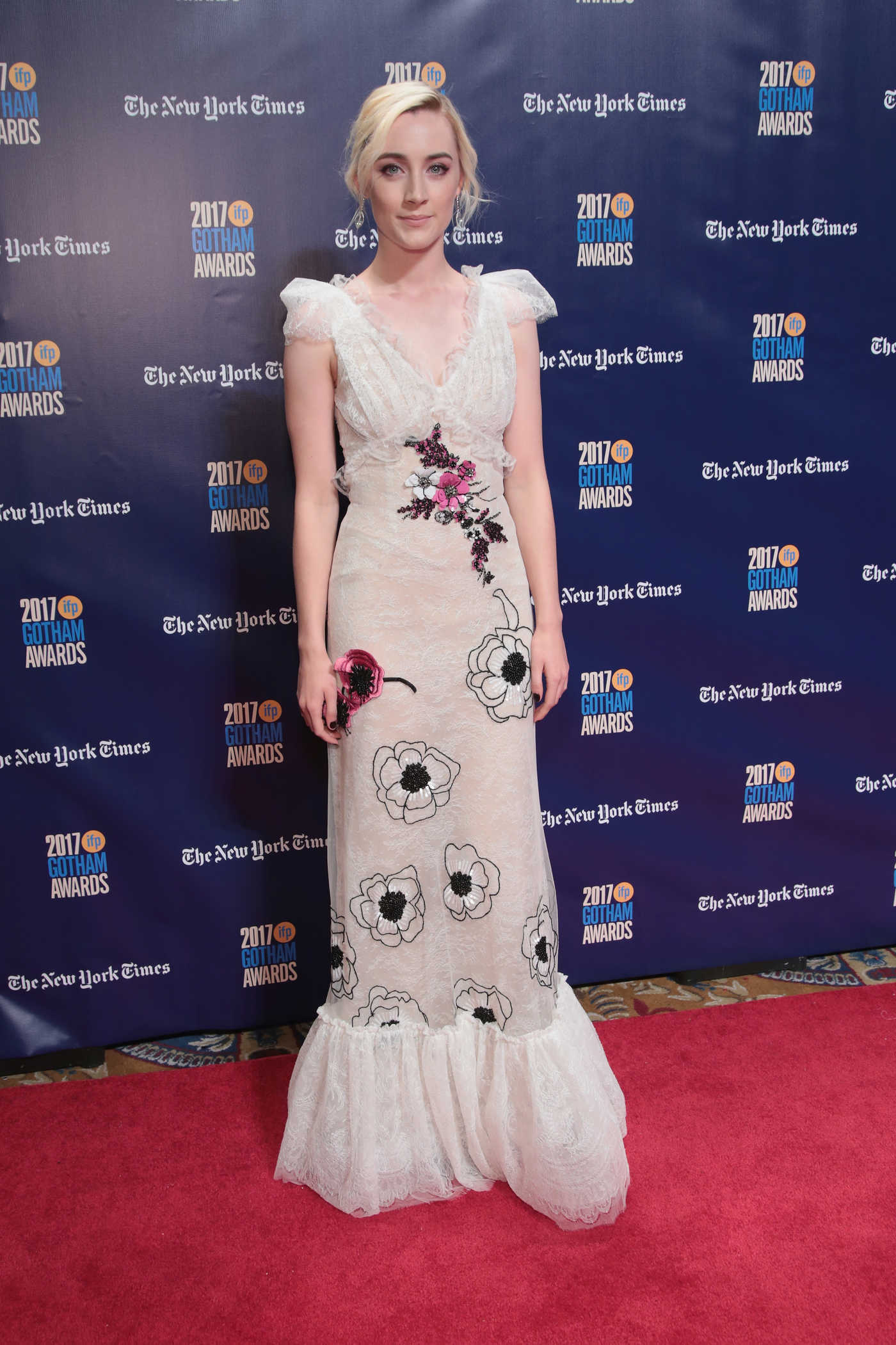 Saoirse Ronan at the 27th Annual Gotham Independent Film Awards in New York City 11/27/2017