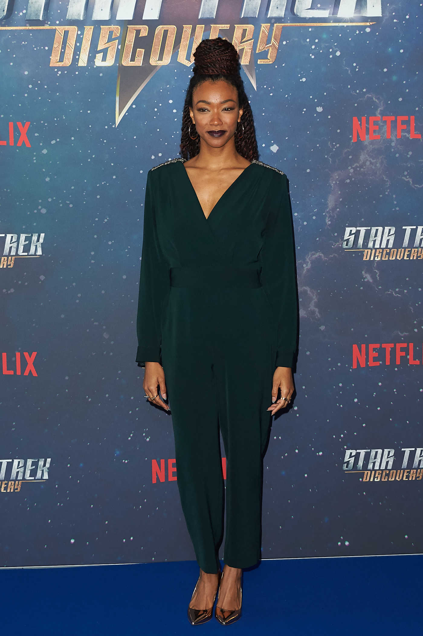 Sonequa Martin-Green at the Star Trek: Discovery Fan Screening at the Millbank Tower in London 11/05/2017