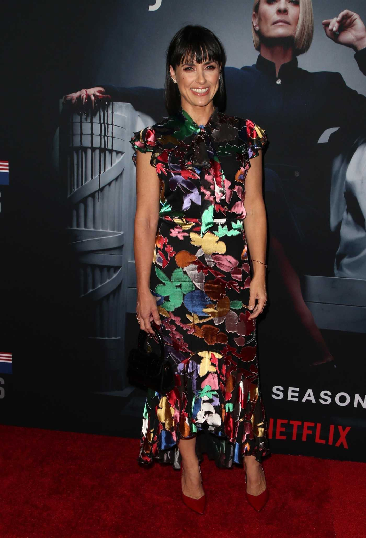 Constance Zimmer at the House of Cards Season 6 Premiere in Los Angeles 10/22/2018
