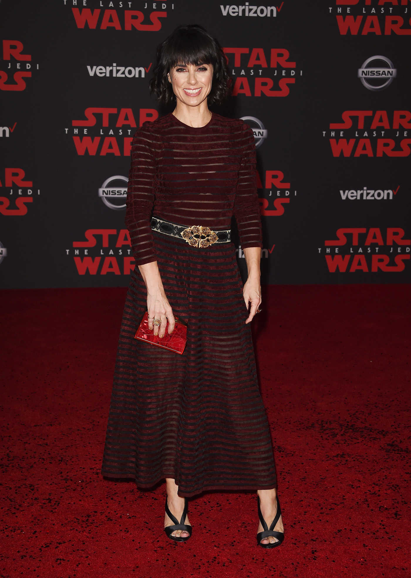 Constance Zimmer at the Star Wars: The Last Jedi Premiere in Los Angeles 12/09/2017