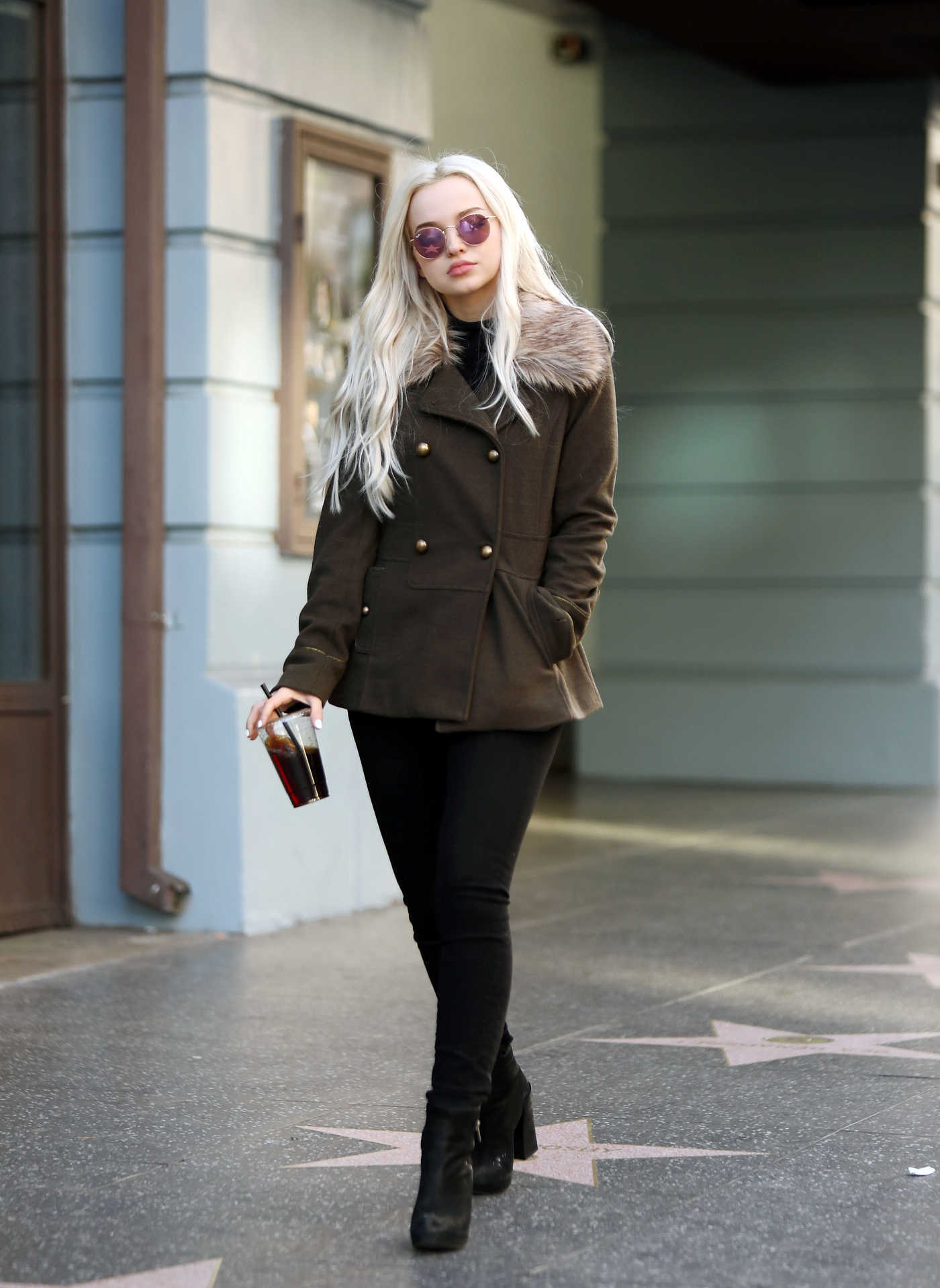 Dove Cameron Was Seen Out in Hollywood 11/28/2017