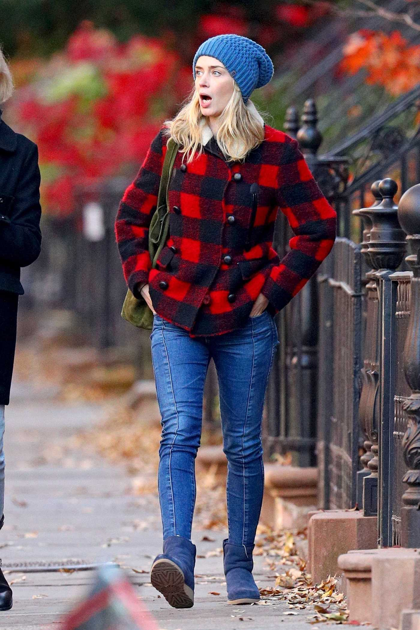 Emily Blunt Was Seen Out in New York City 11/30/2017