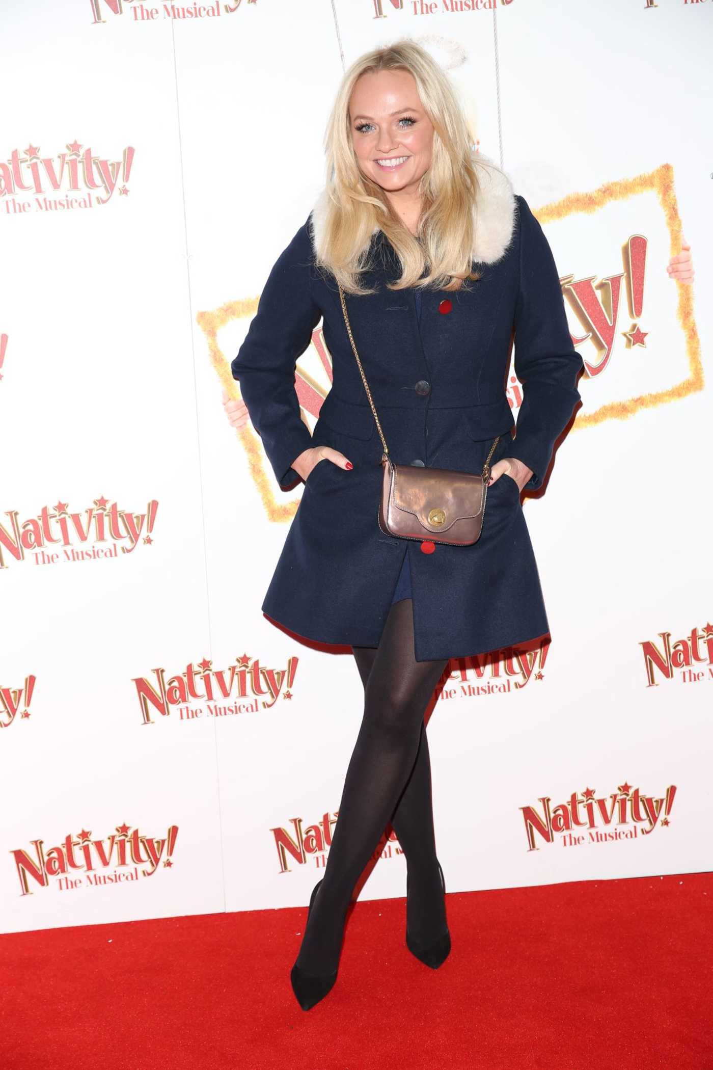 Emma Bunton at the Nativity Gala Night in London 12/14/2017