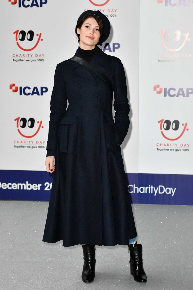 Gemma Arterton at ICAP Charity Day in London 12/05/2017-1