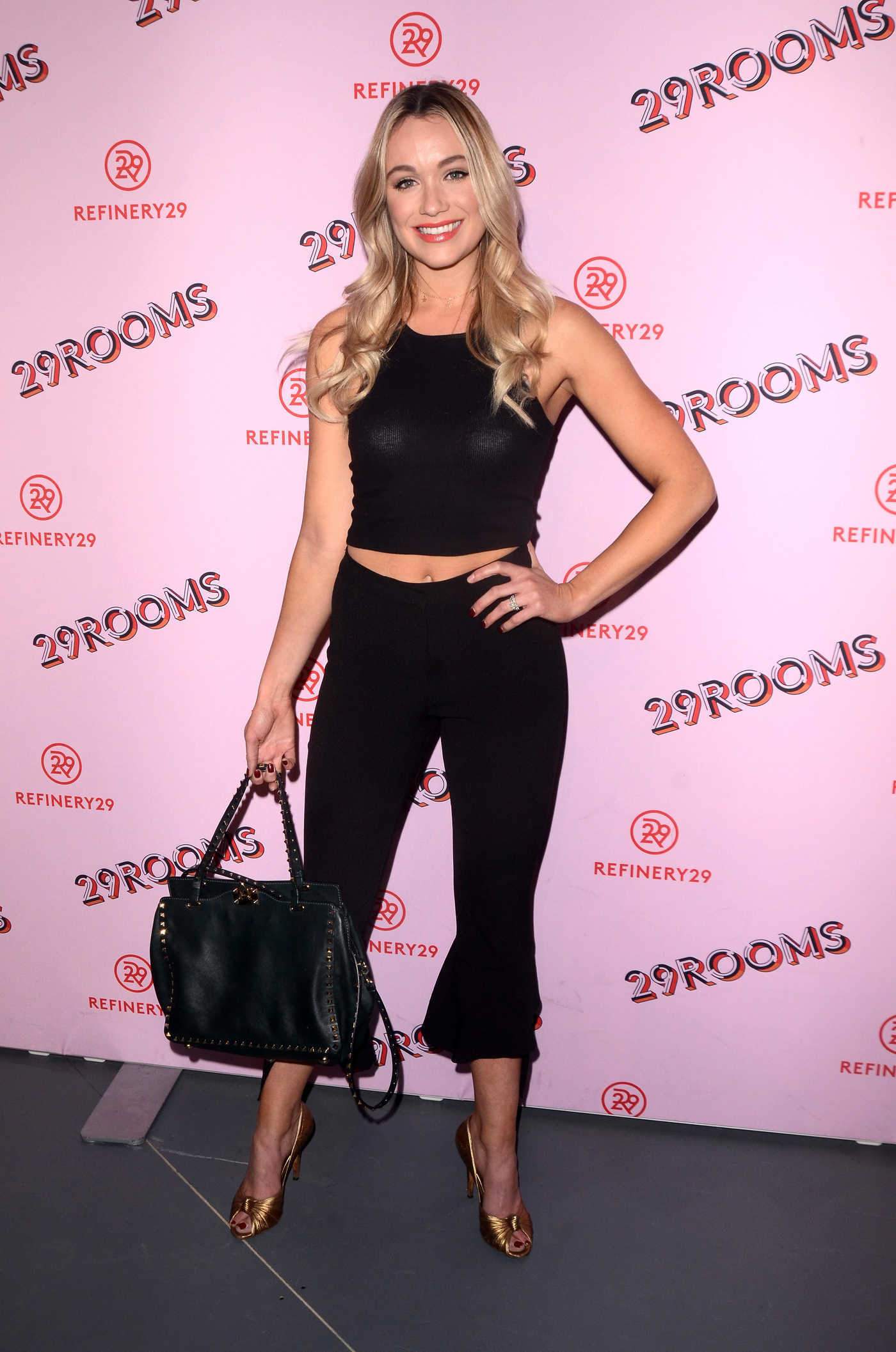 Katrina Bowden at the Refinery29 Rooms Los Angeles: Turn It Into Art Opening Night Party in Los Angeles 12/06/2017