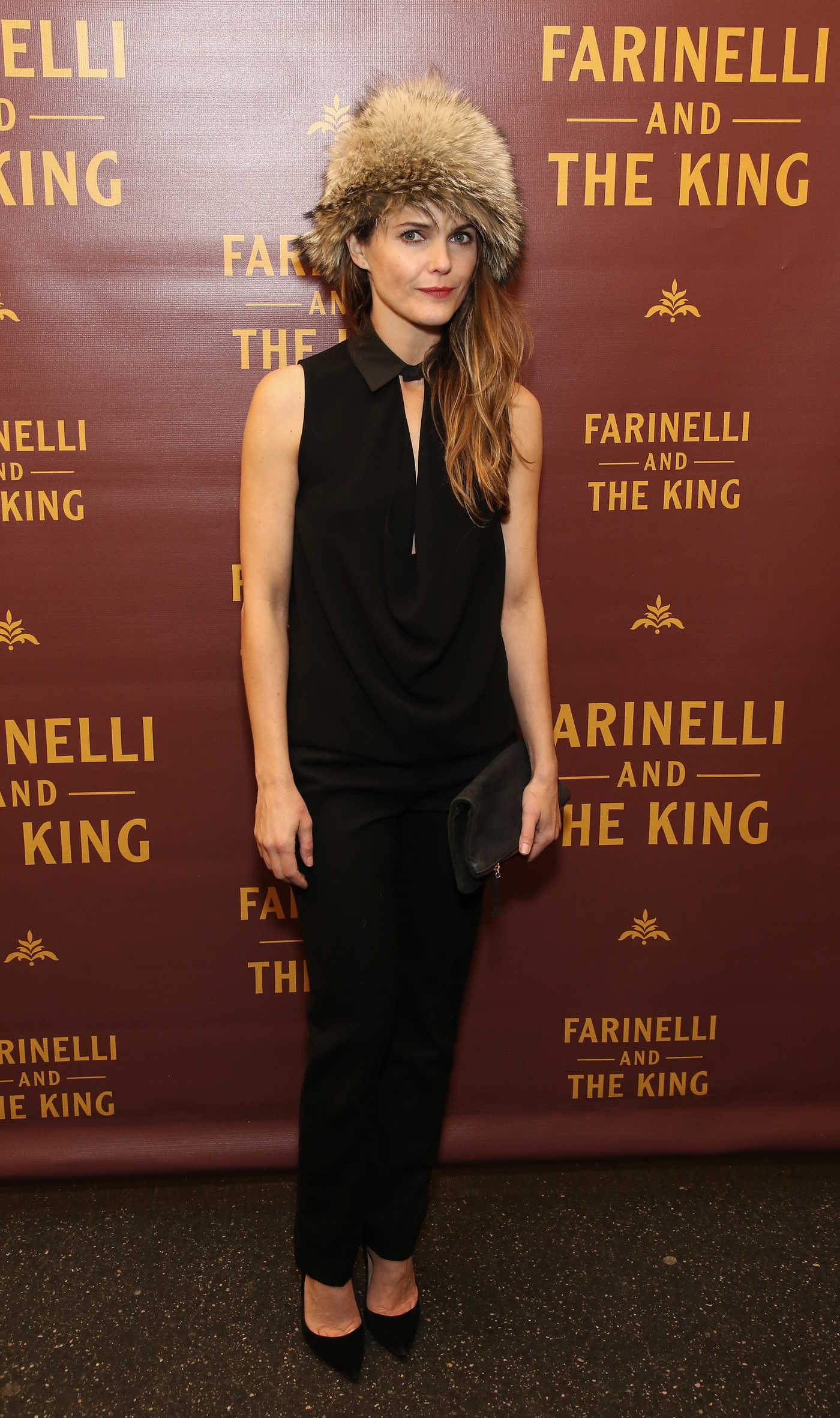 Keri Russell at Broadway Opening Night Performance of Farinelli and the King with Matthew Rhys in NYC 12/17/2017
