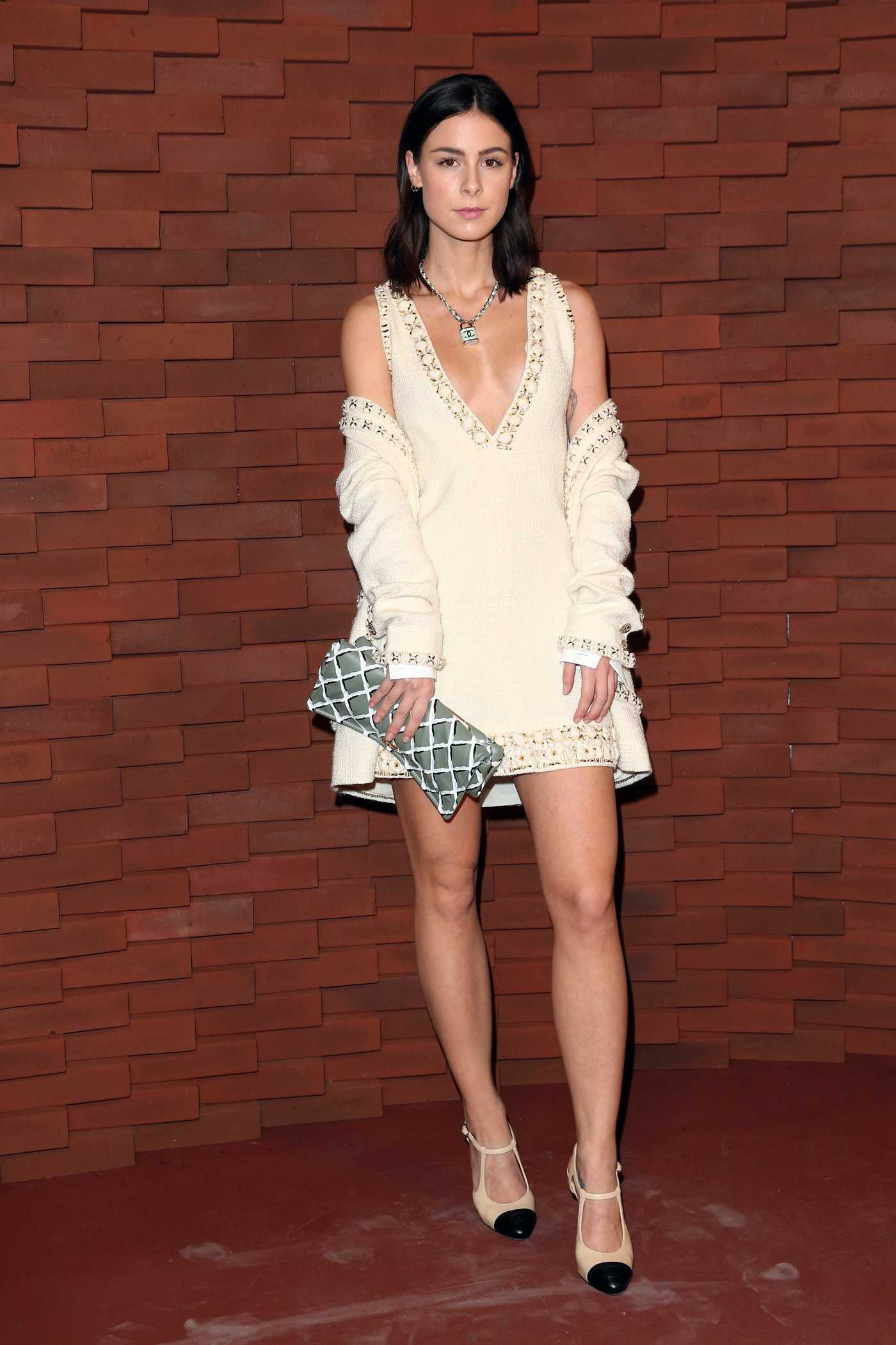Lena Meyer-Landrut at the Chanel Metiers d'Art Collection Fashion Show in Hamburg 12/06/2017