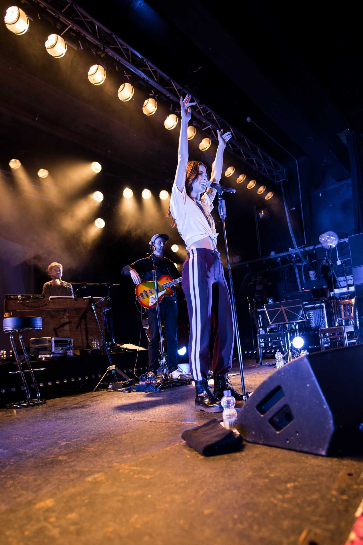 Lena Meyer-Landrut Performs During the End of Chapter One Tour in Hamburg 12/17/2017