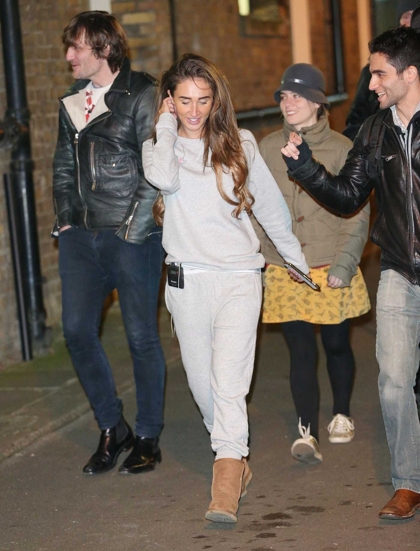 Megan McKenna Night Out in London 12/01/2017