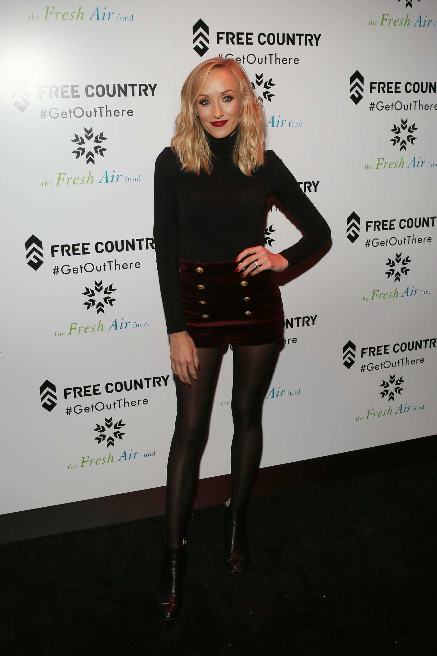 Nastia Liukin at the Free Country and The Fresh Air Fund Partnership Celebration in NYC 12/19/2017