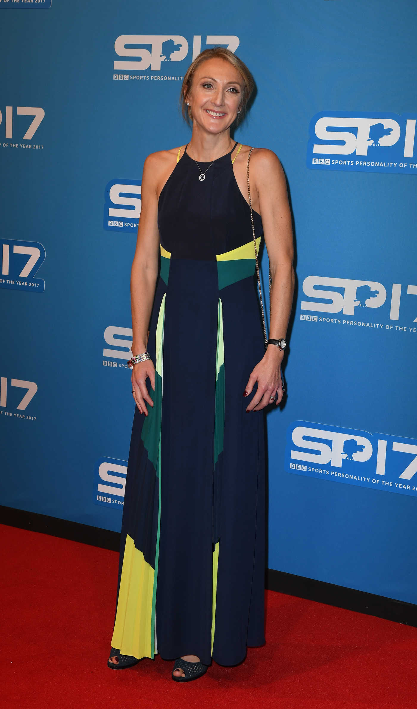 Paula Radcliffe at 2017 BBC Sports Personality of The Year at Echo Arena in Liverpool 12/17/2017