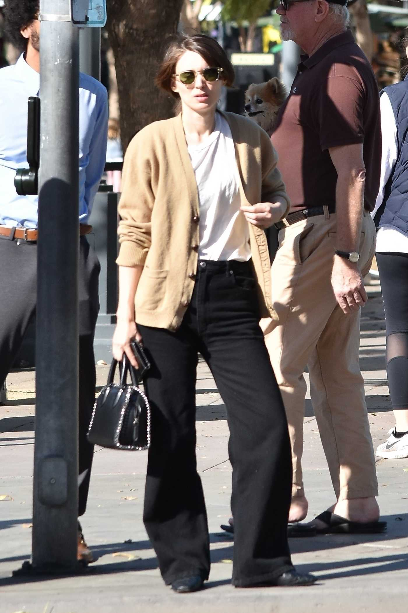 Rooney Mara Goes Shopping in LA 12/17/2017