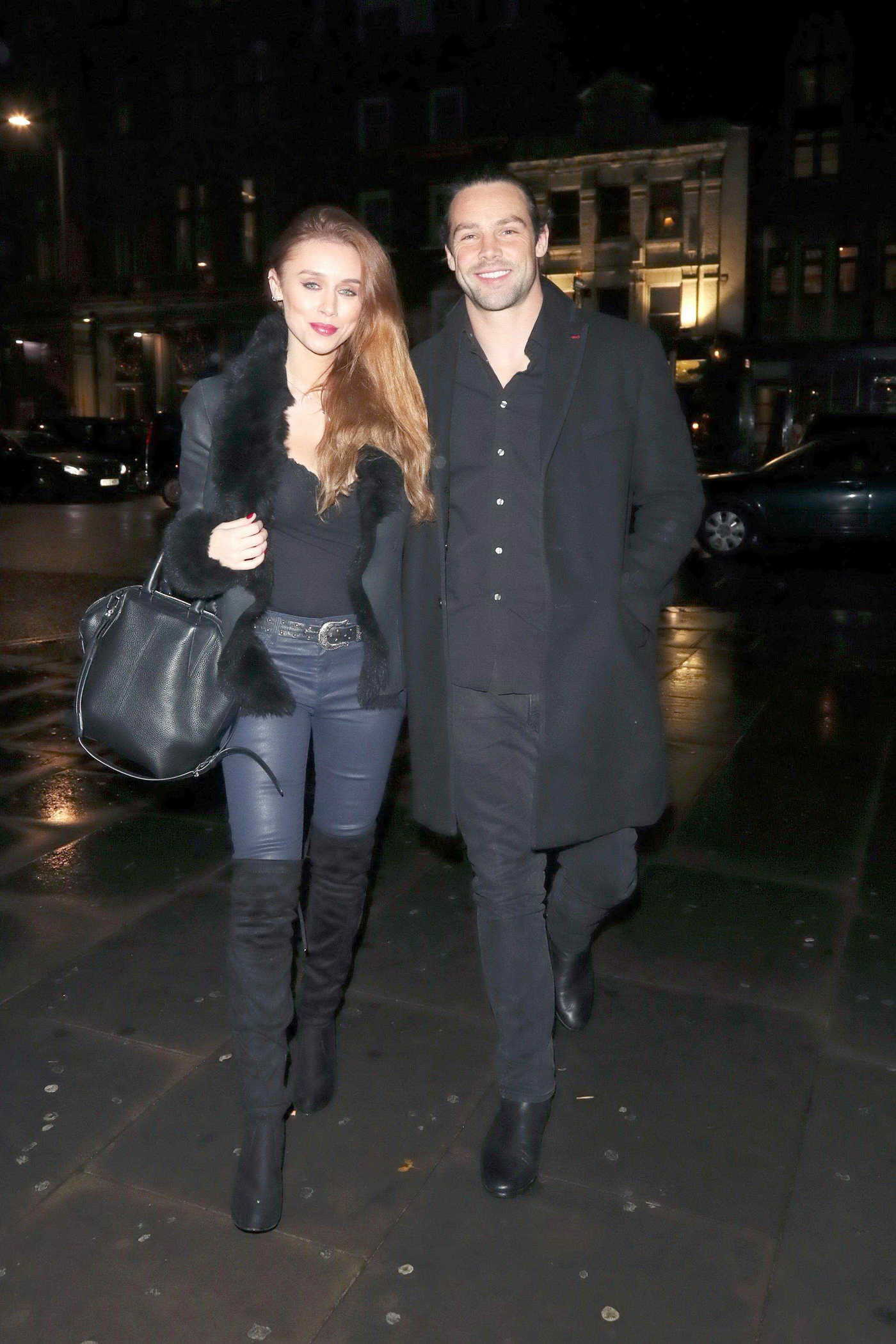 Una Healy at Mahiki Kensington in London 12/02/2017