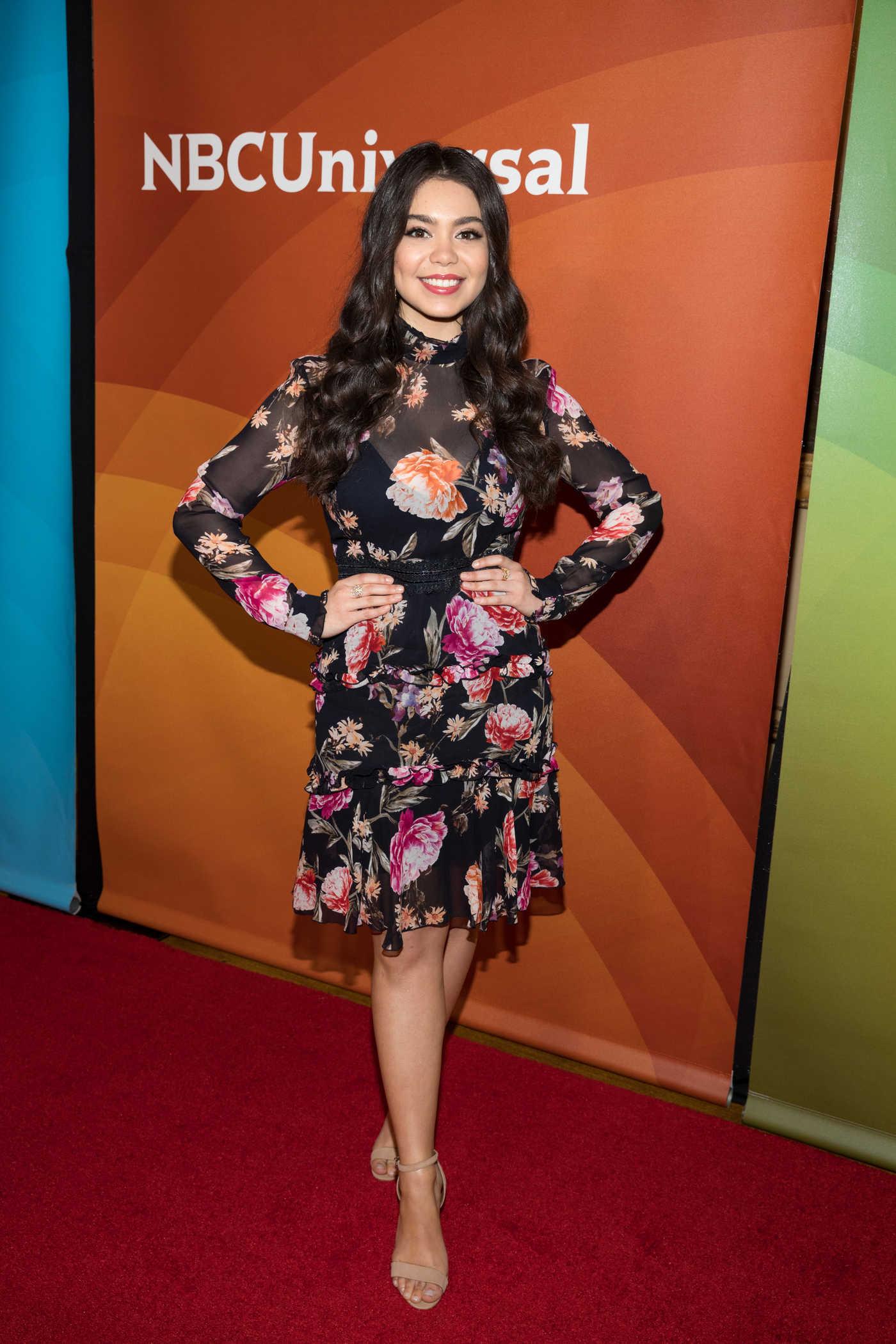 Auli'i Cravalho at NBC Universal TCA Winter Press Tour in Pasadena 01/09/2018