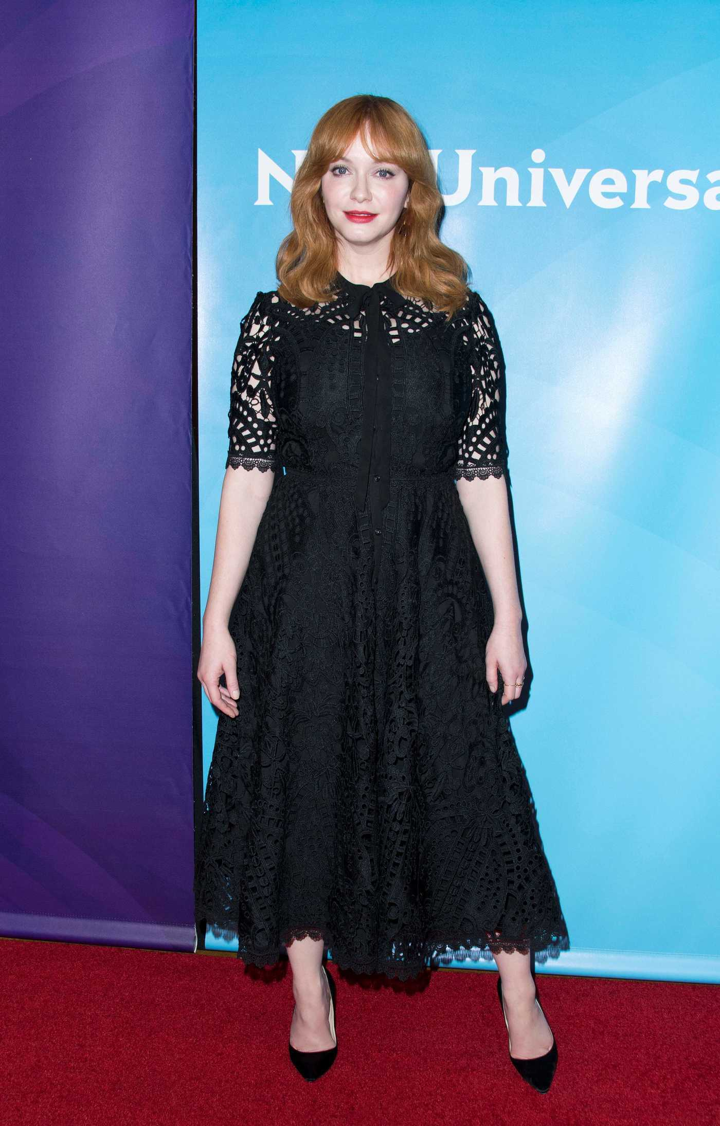 Christina Hendricks at NBC Universal TCA Winter Press Tour in Pasadena 01/09/2018