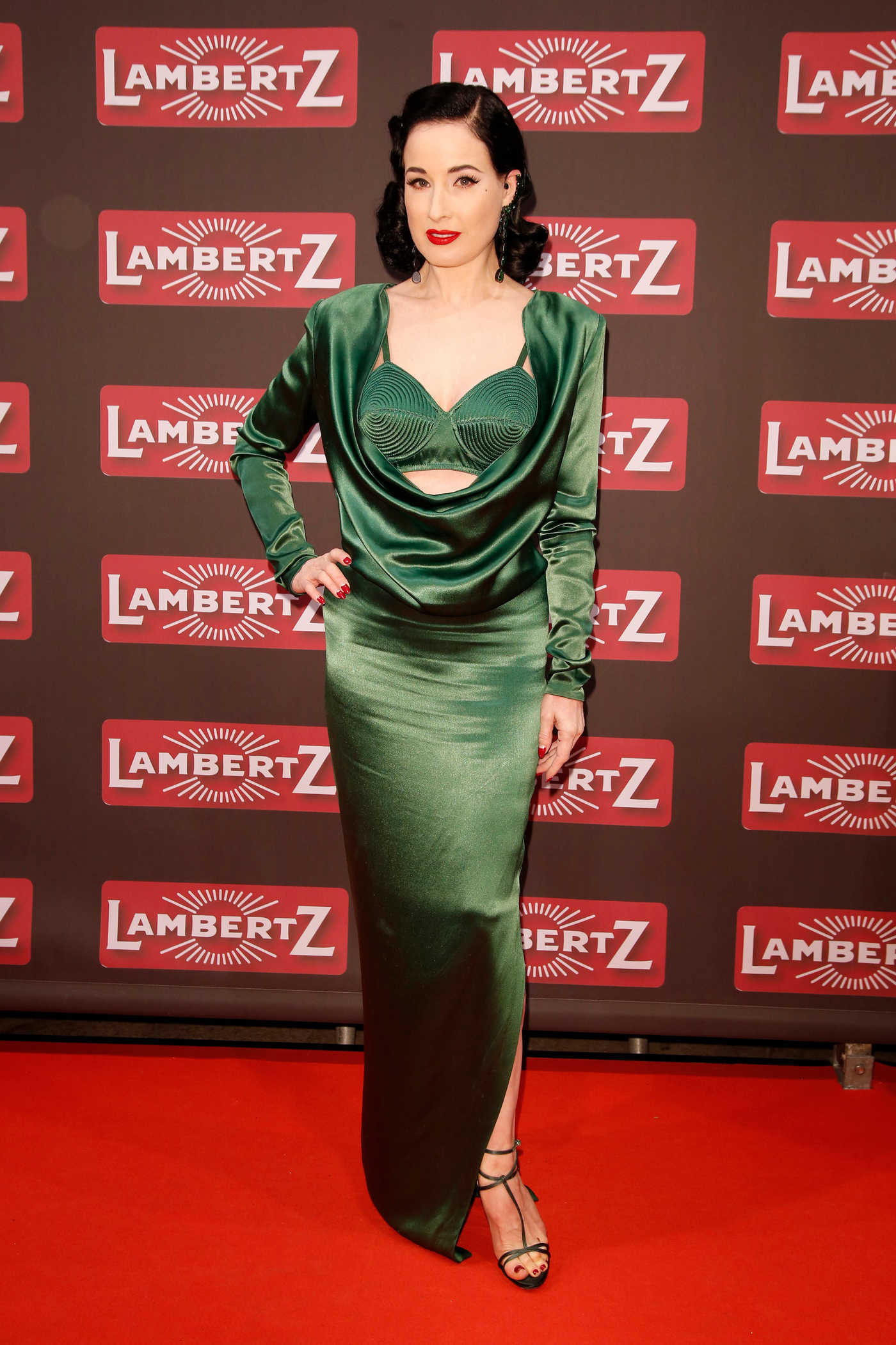 Dita Von Teese at the Lambertz Monday Night in Cologne 01/29/2018