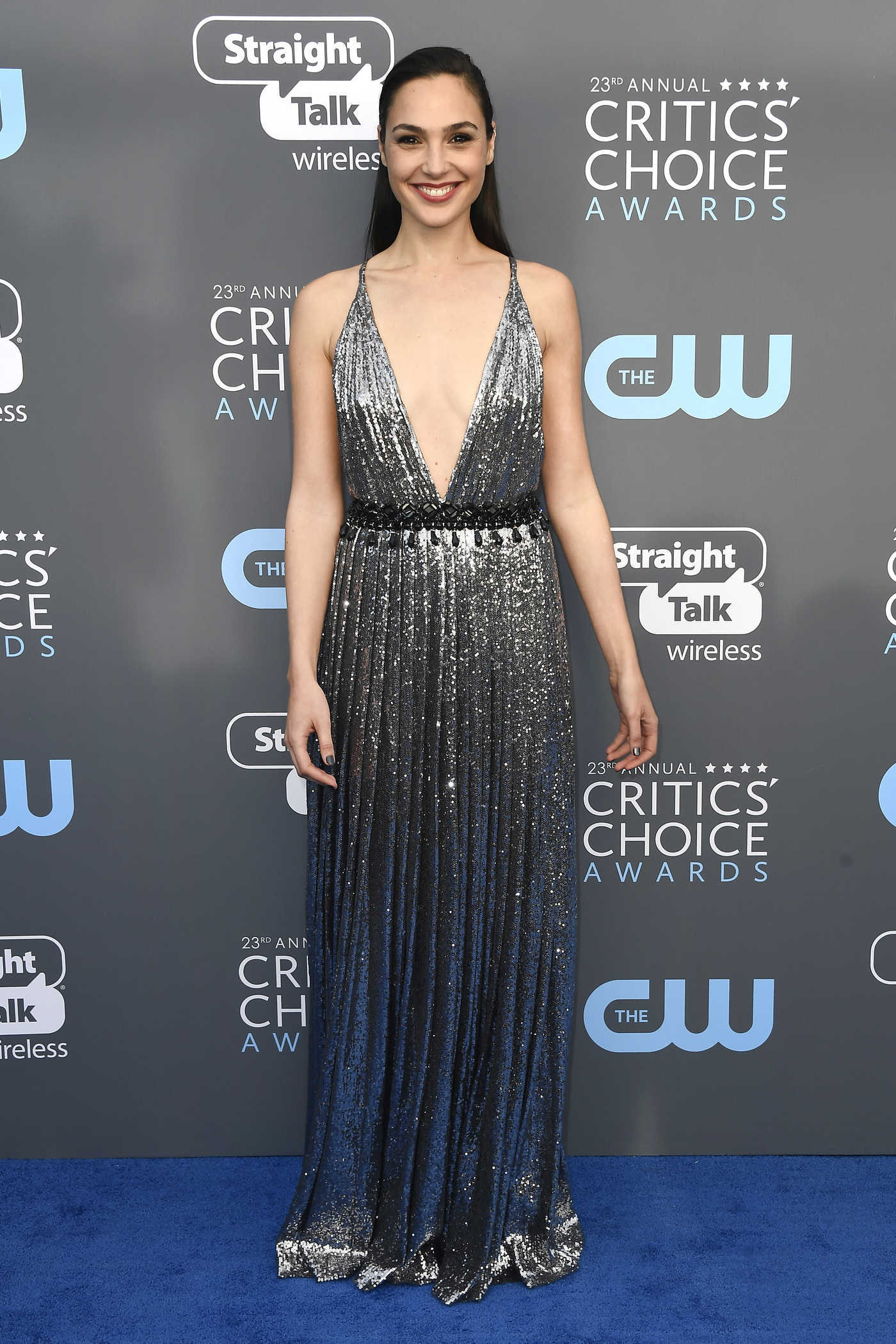 Gal Gadot at the 23rd Annual Critics' Choice Awards in Santa Monica 01/11/2018