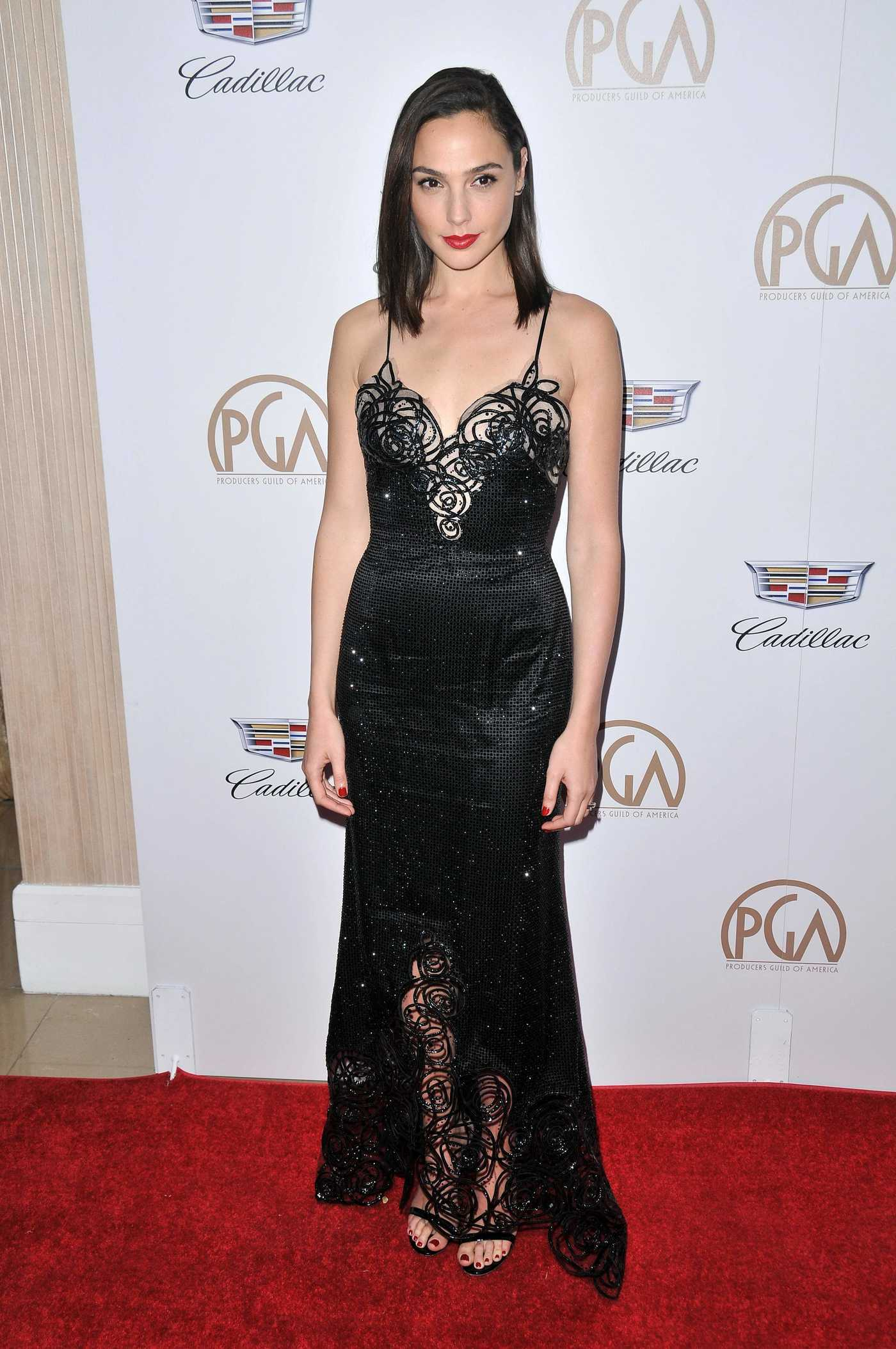 Gal Gadot Attends the 29th Annual Producers Guild Awards in Beverly Hills 01/20/2018