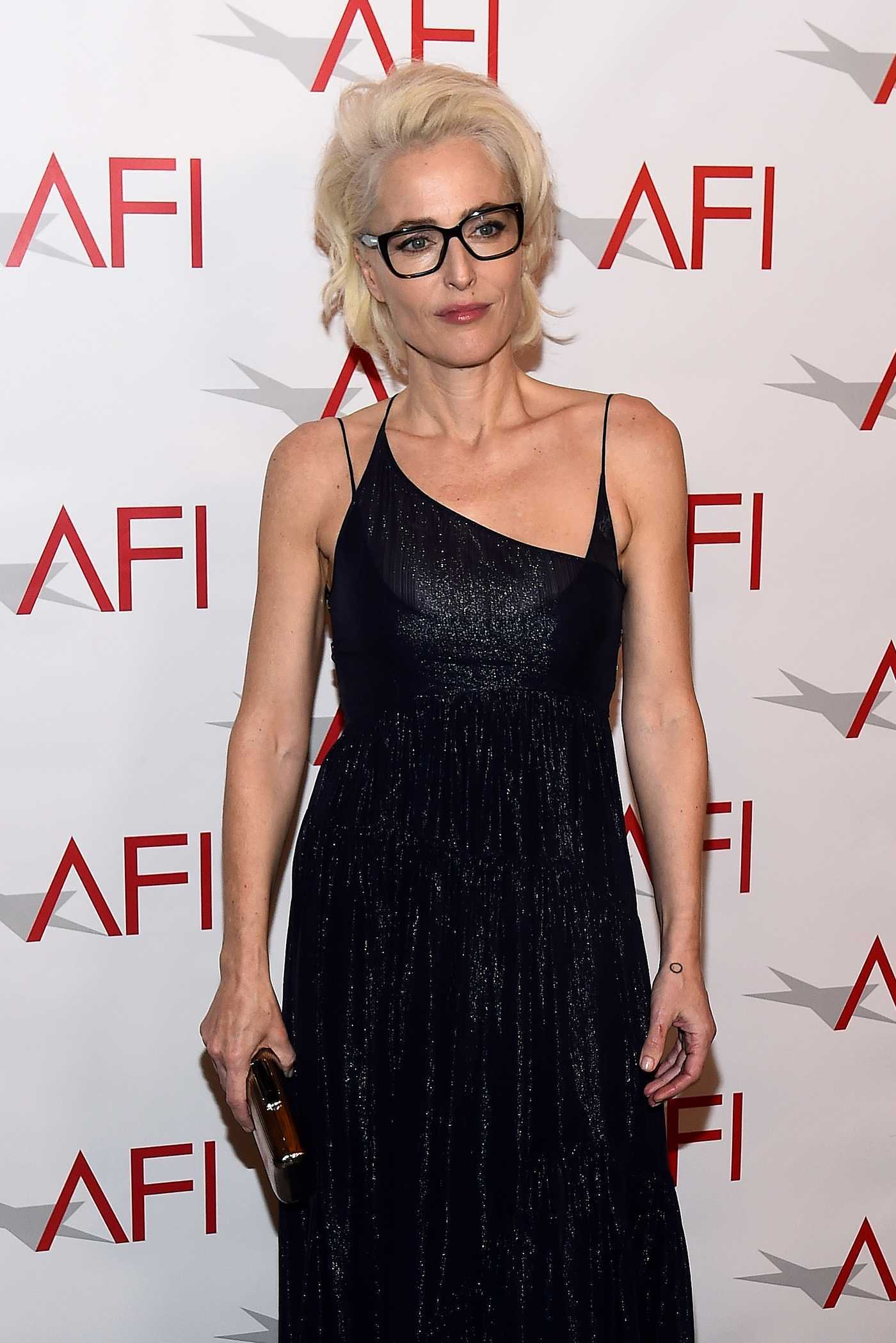 Gillian Anderson at the 18th Annual AFI Awards in Los Angeles 01/05/2018
