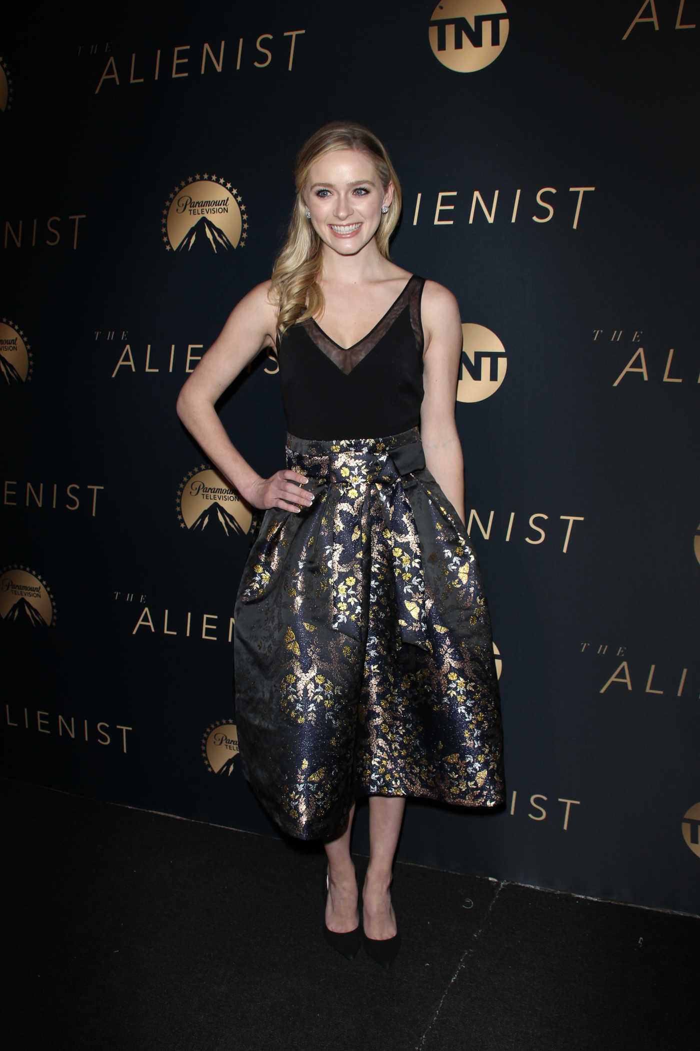 Greer Grammer at The Alienist Premiere in Los Angeles 01/11/2018