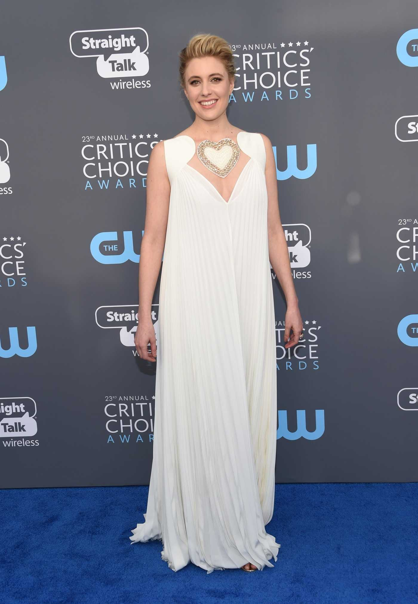 Greta Gerwig at the 23rd Annual Critics' Choice Awards in Santa Monica 01/11/2018