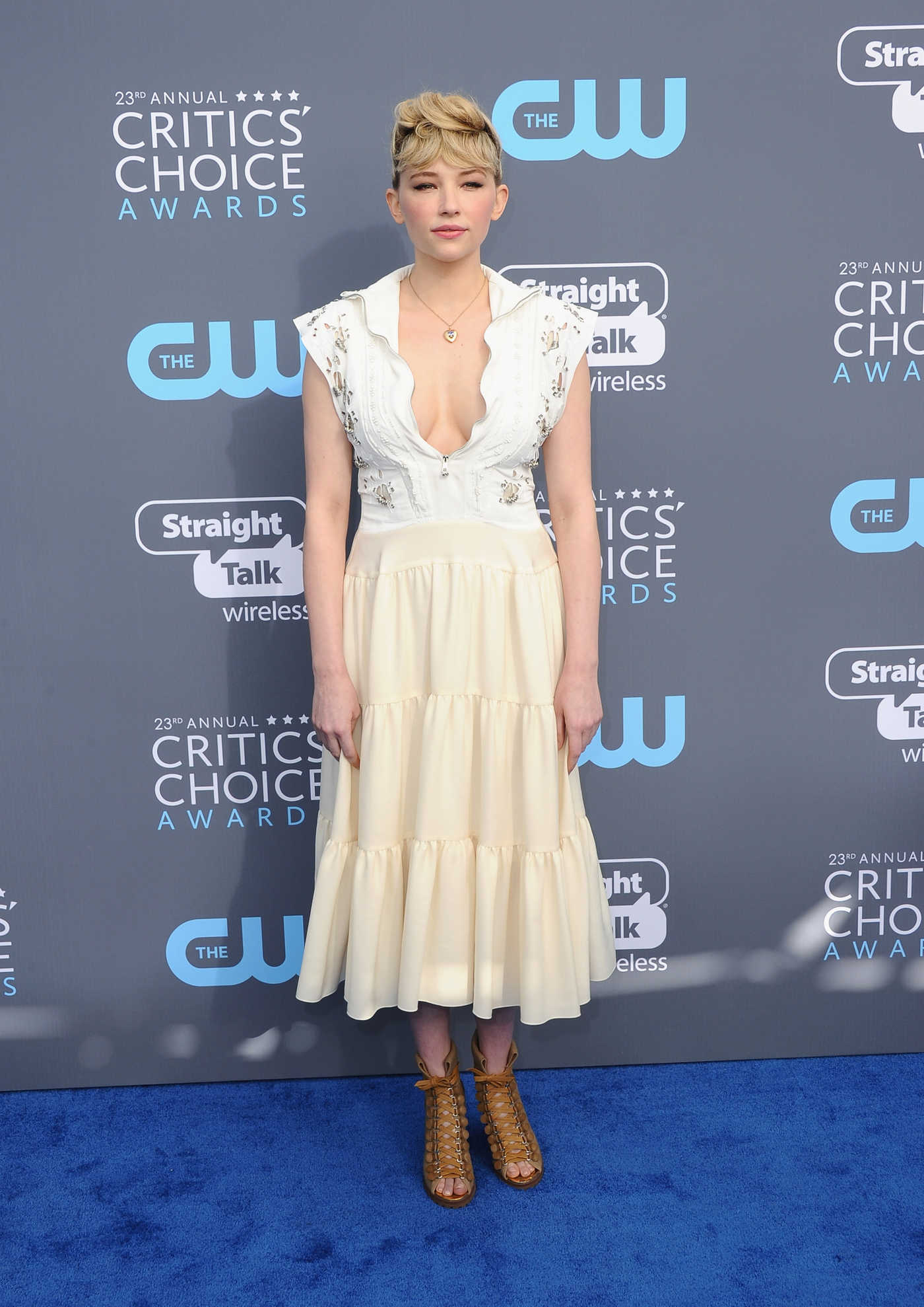 Haley Bennett at the 23rd Annual Critics' Choice Awards in Santa Monica 01/11/2018