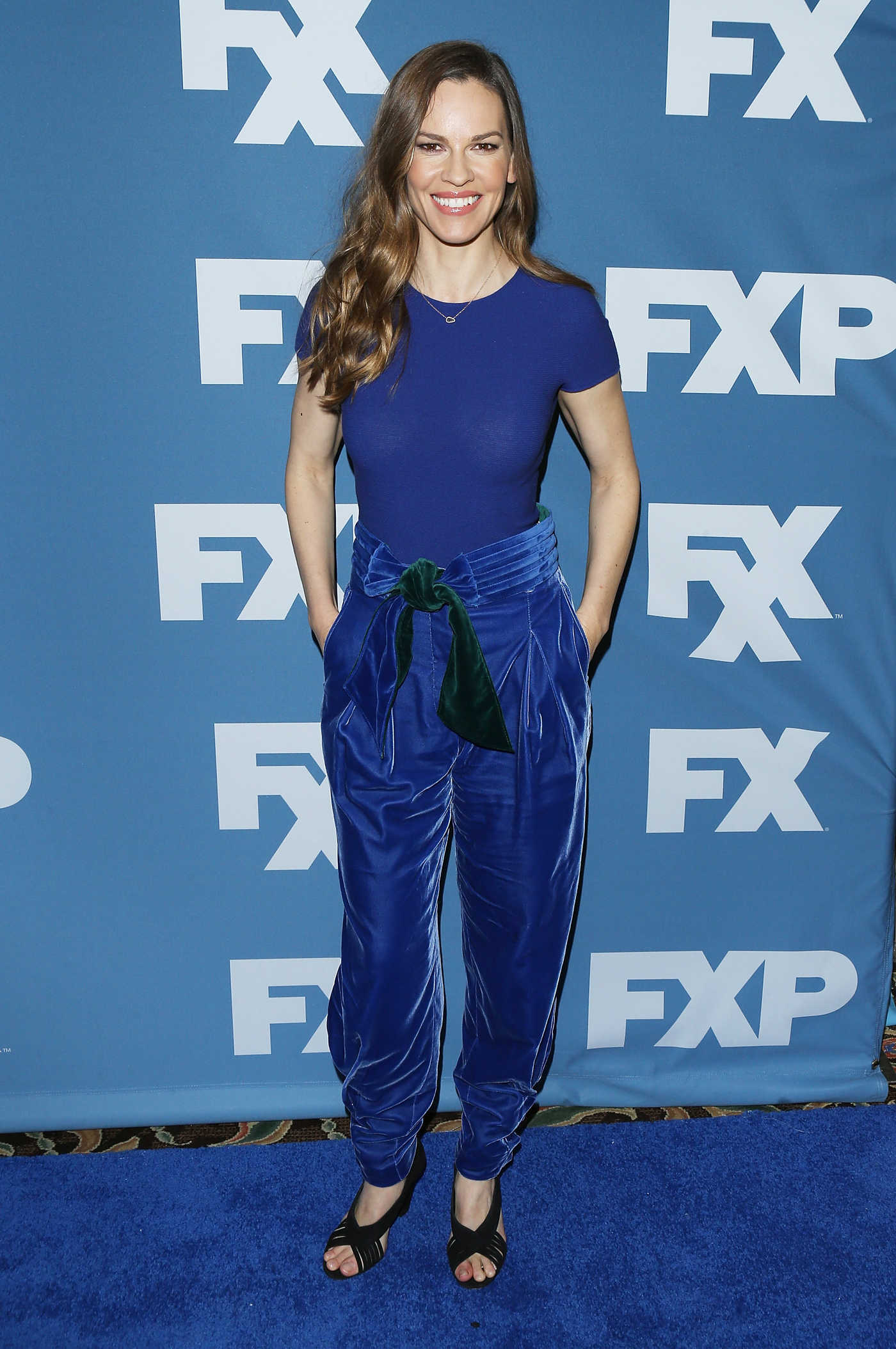 Hilary Swank at the FX Starwalk TCA Winter Press Tour in Los Angeles 01/05/2018