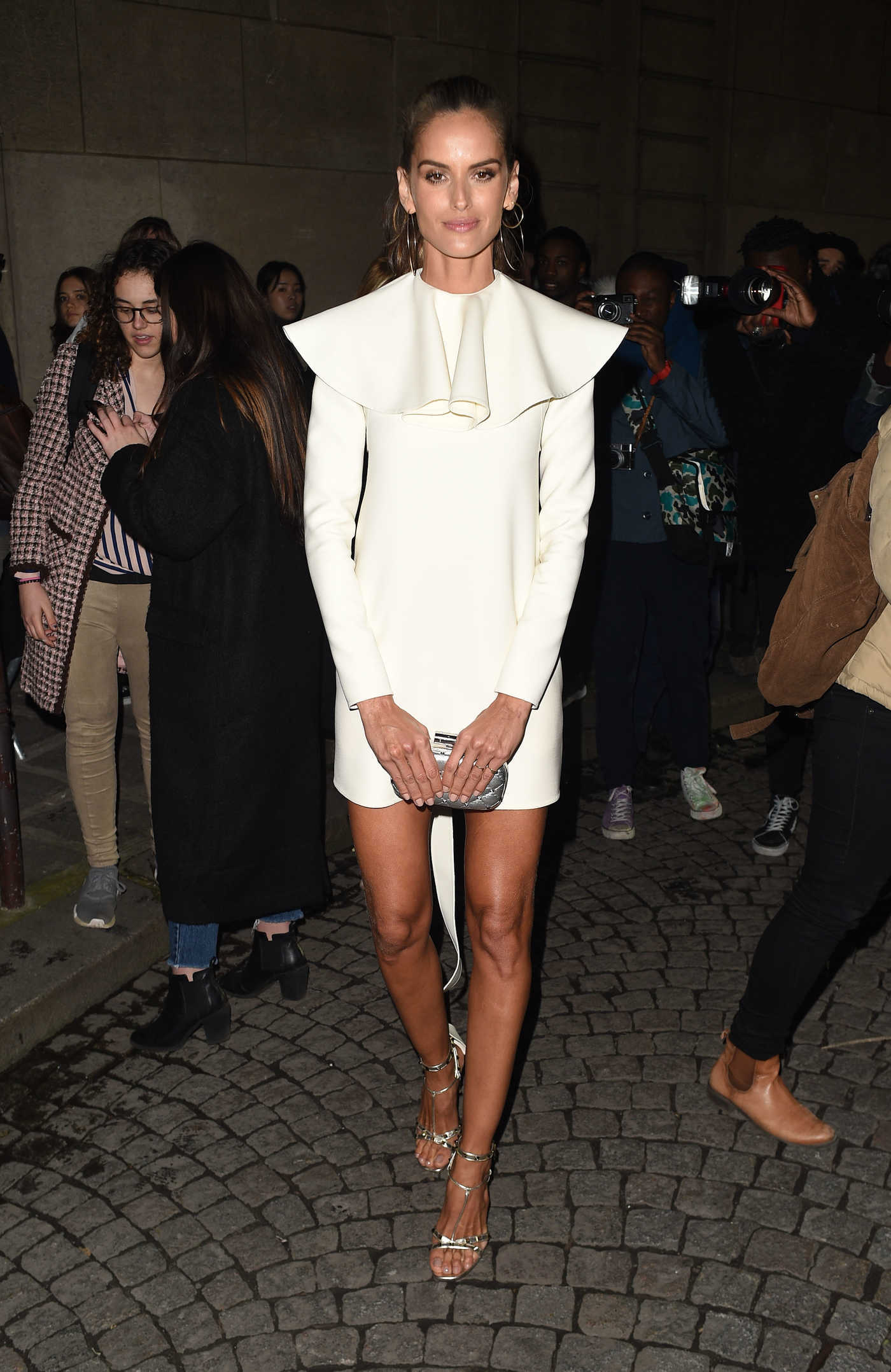 Izabel Goulart at the Valentino 2018 Show During the Paris Fashion Week in Paris 01/24/2018