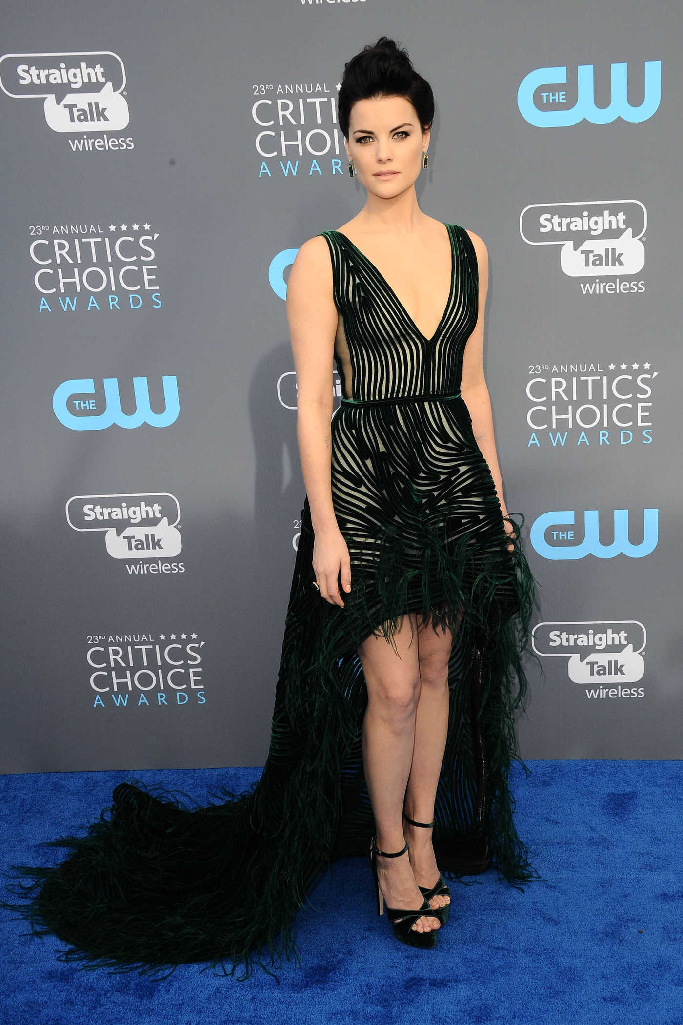 Jaimie Alexander at the 23rd Annual Critics' Choice Awards in Santa Monica 01/11/2018