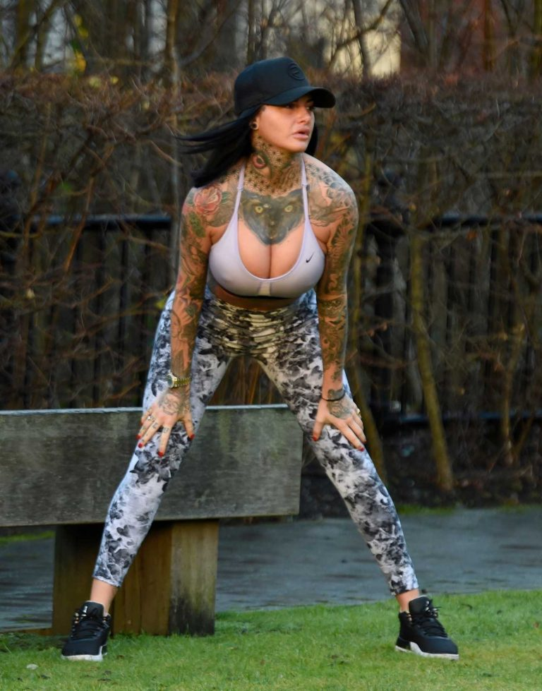 Jemma Lucy Was Spotted Out in Manchester 01/20/2018-1