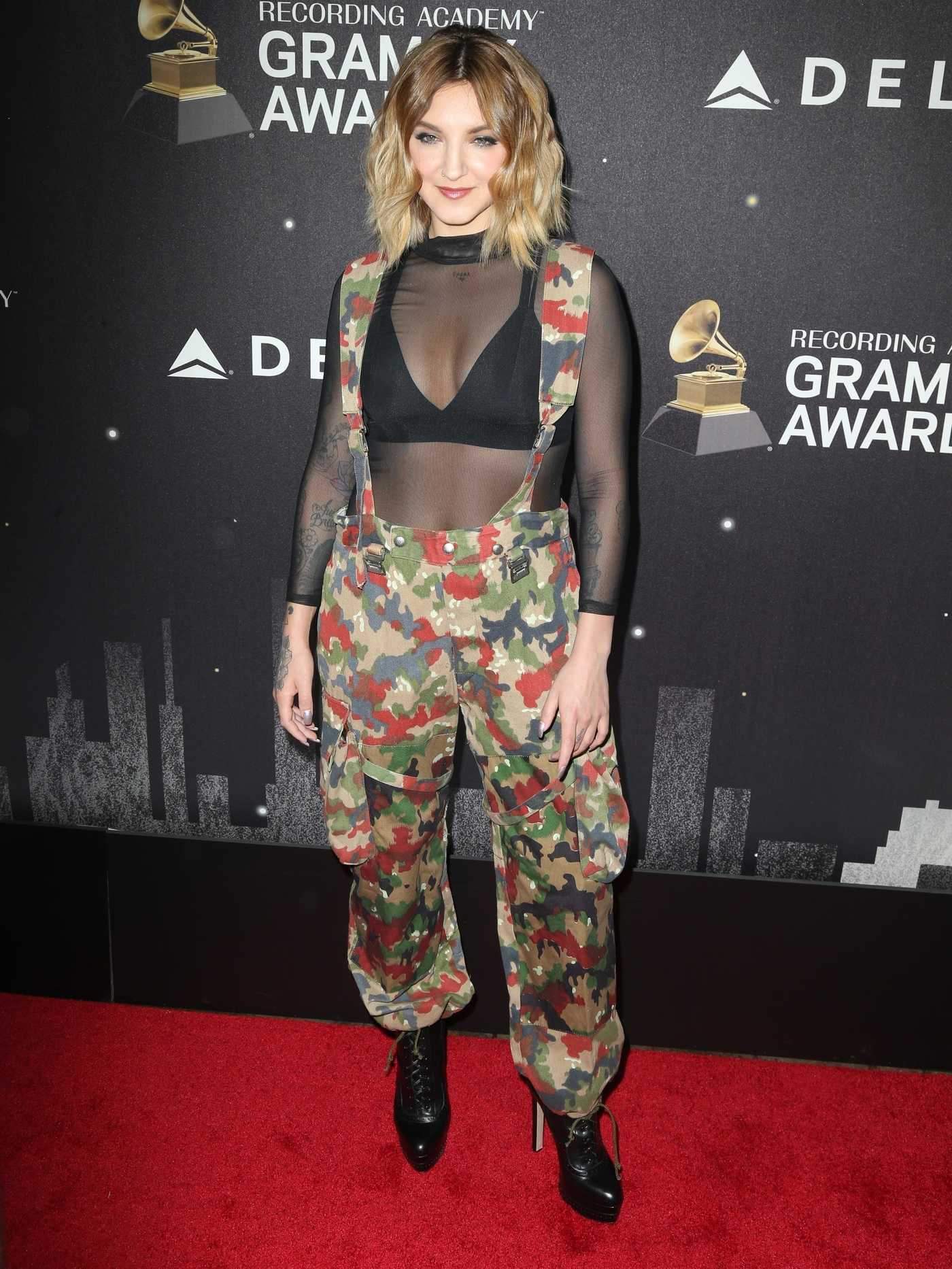 Julia Michaels at the Delta Airlines Celebrates 2018 Grammy Weekend Event in New York City 01/25/2018