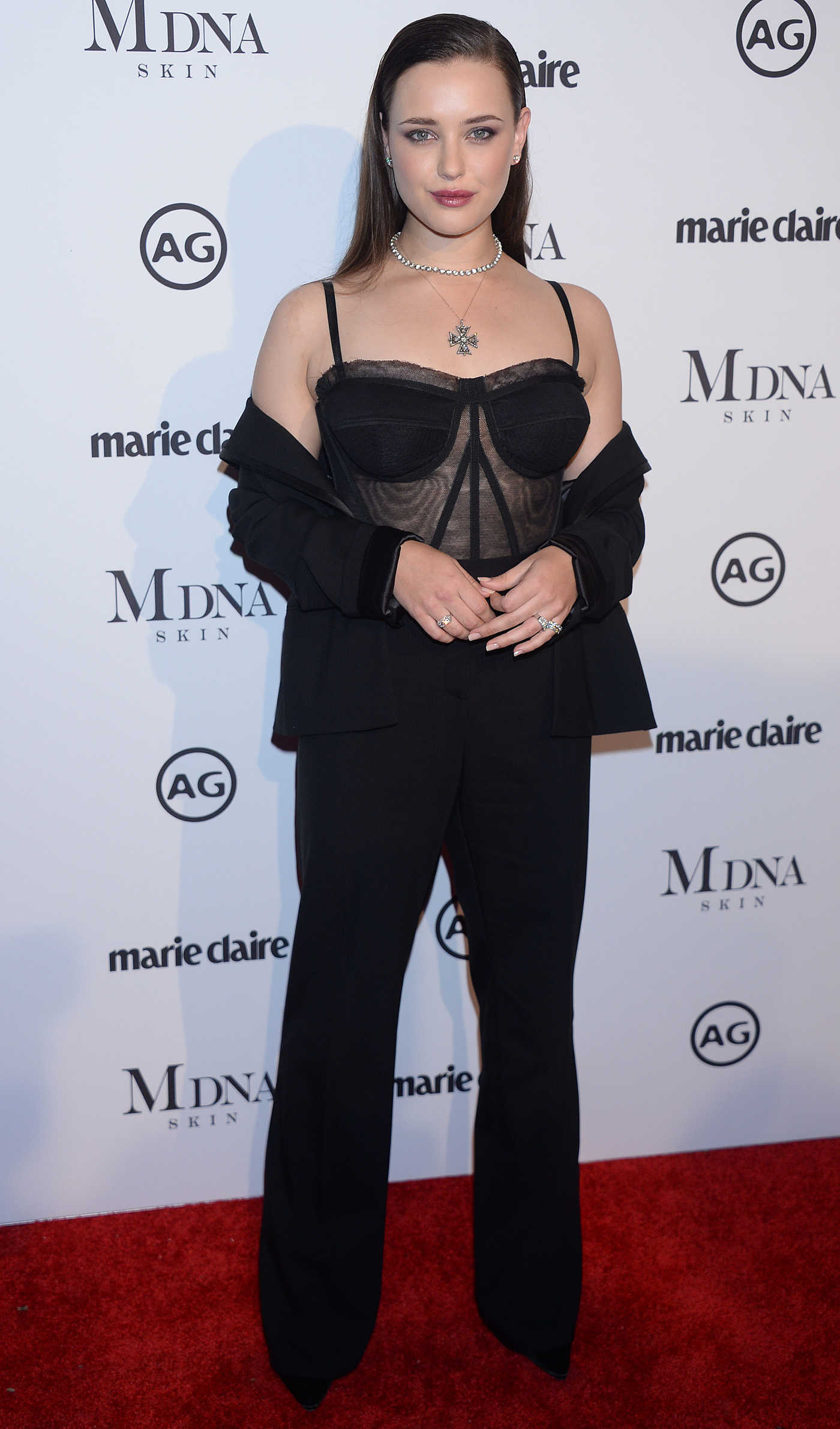 Katherine Langford at the Marie Claire Image Makers Awards in Los Angeles 01/11/2018