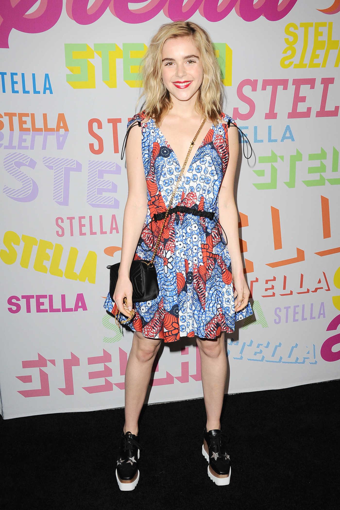 Kiernan Shipka at the Stella McCartney Show in Hollywood 01/16/2018