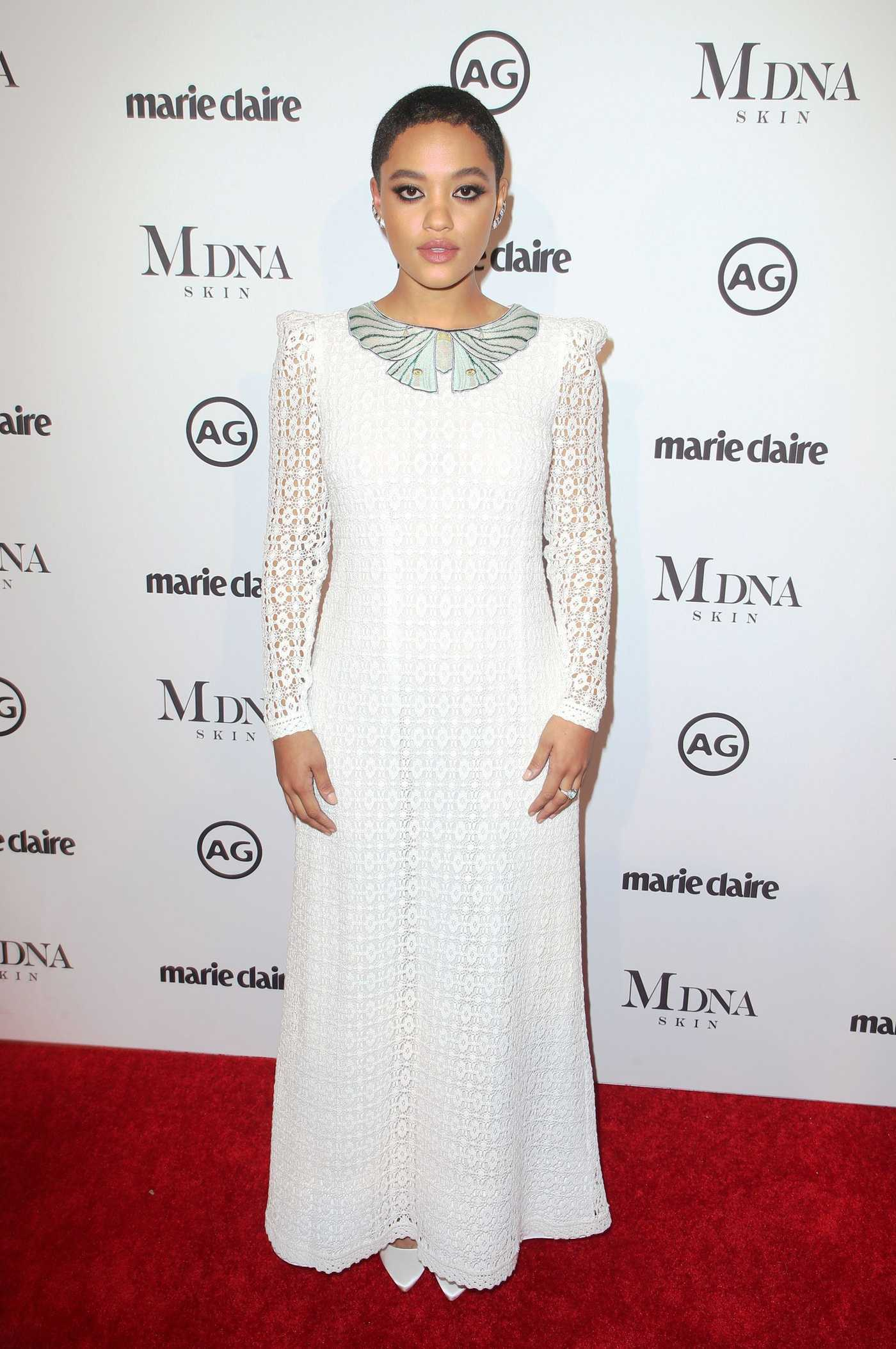 Kiersey Clemons at the Marie Claire Image Makers Awards in Los Angeles 01/11/2018