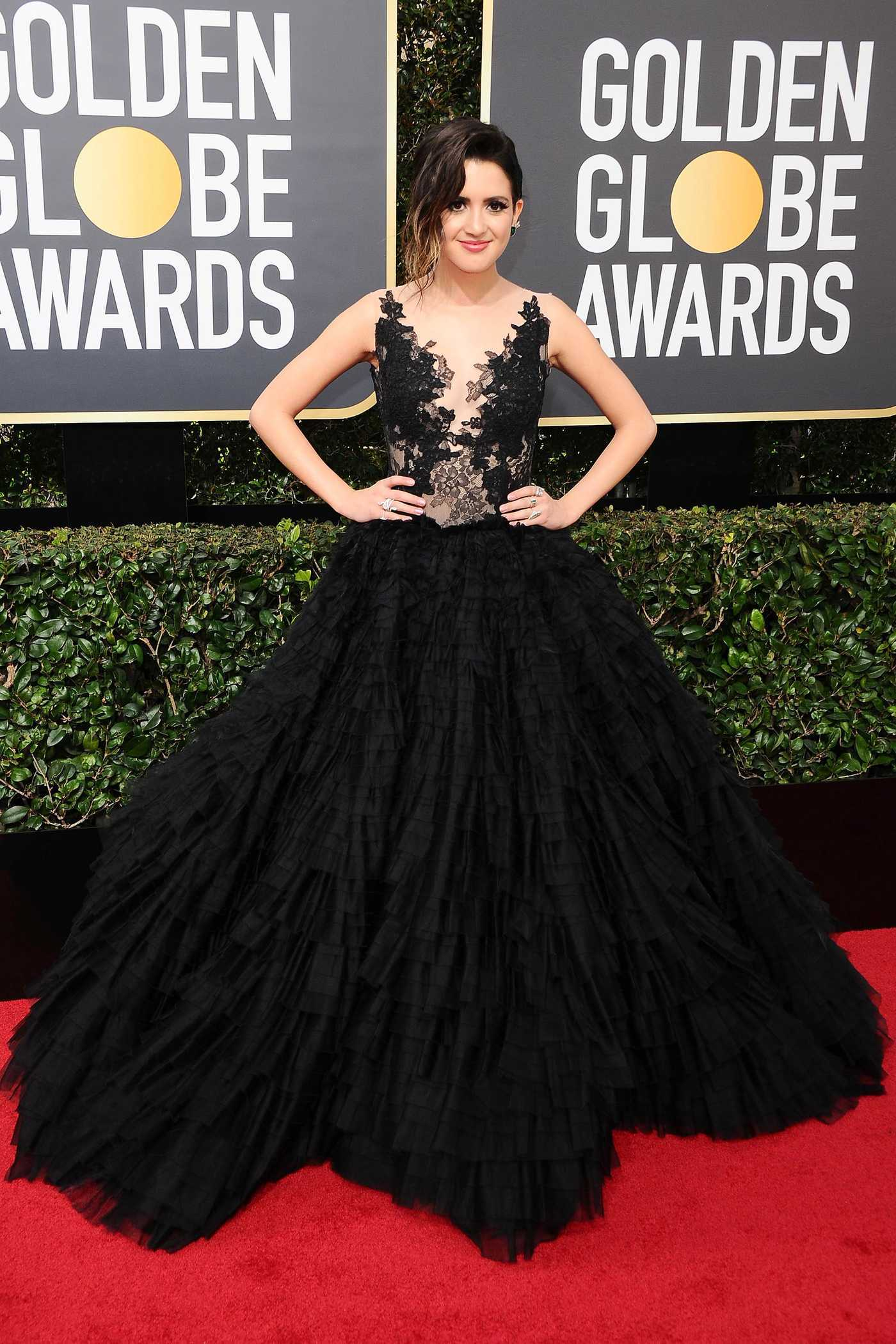 Laura Marano at the 75th Annual Golden Globe Awards in Beverly Hills 01/07/2018